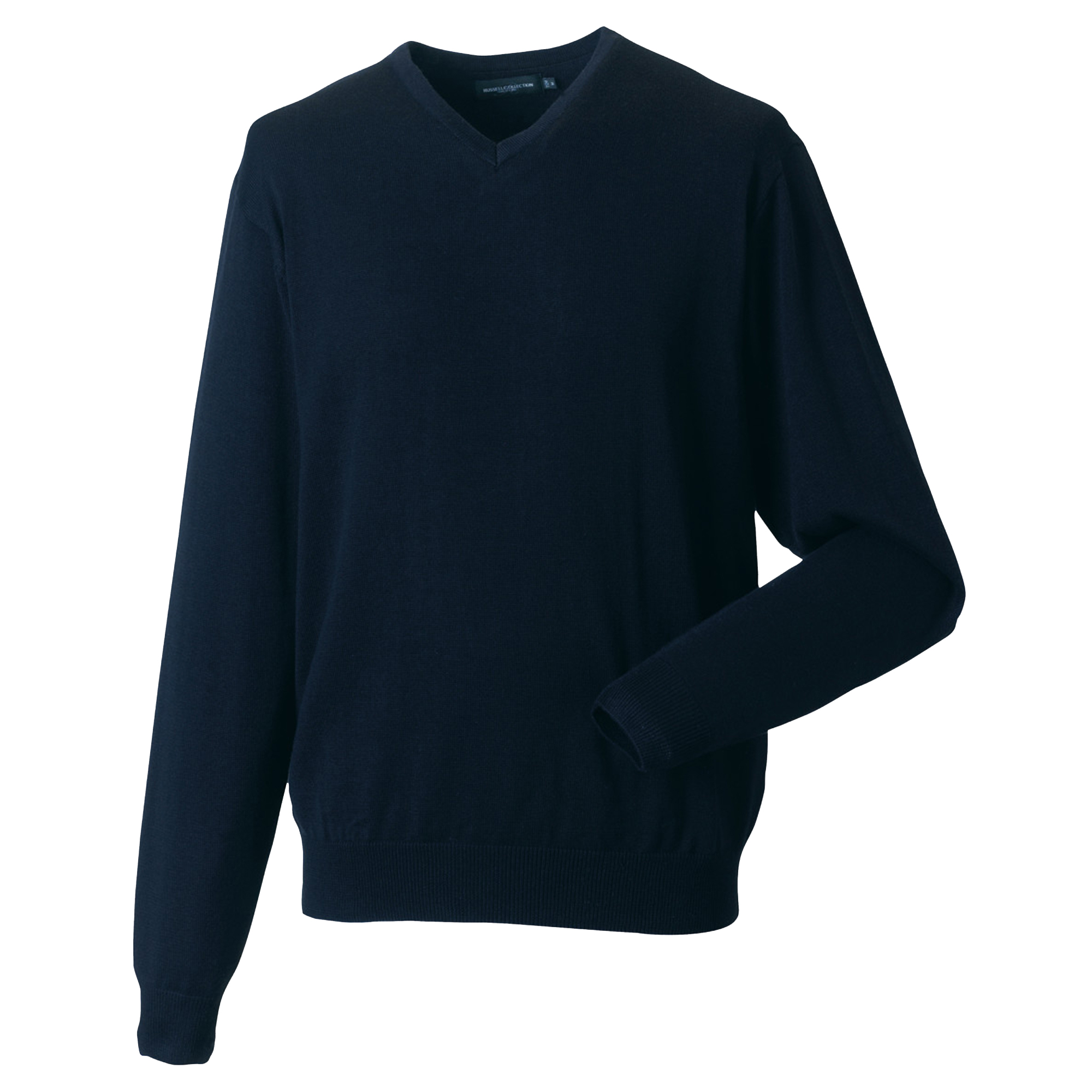 miniature 7 - Russell Collection - Pullover à col en V - Homme (XS-4XL) 2 couleurs (BC1012)