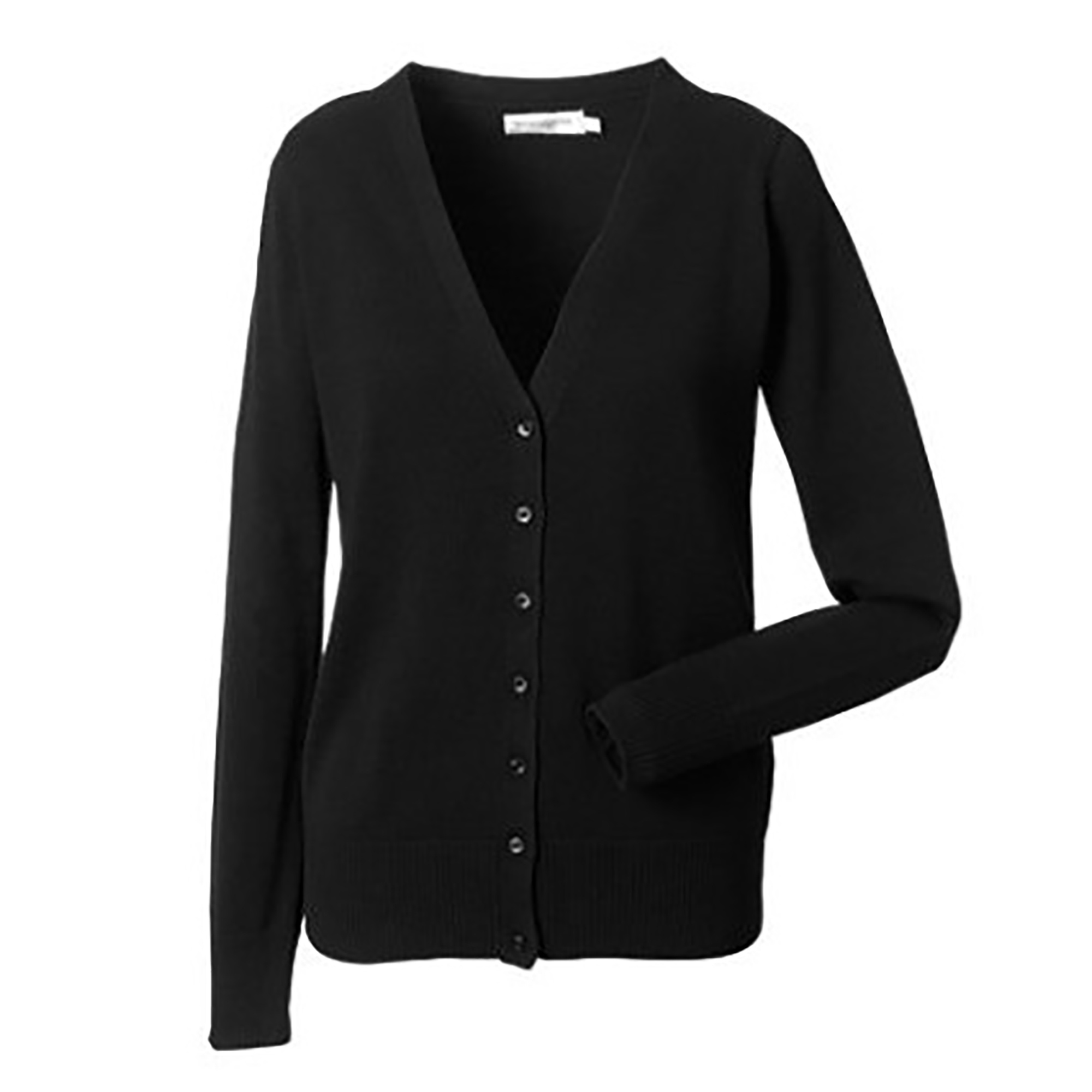 Russell Collection Ladies/Womens V-neck Knitted Cardigan (4XL) (French Navy)