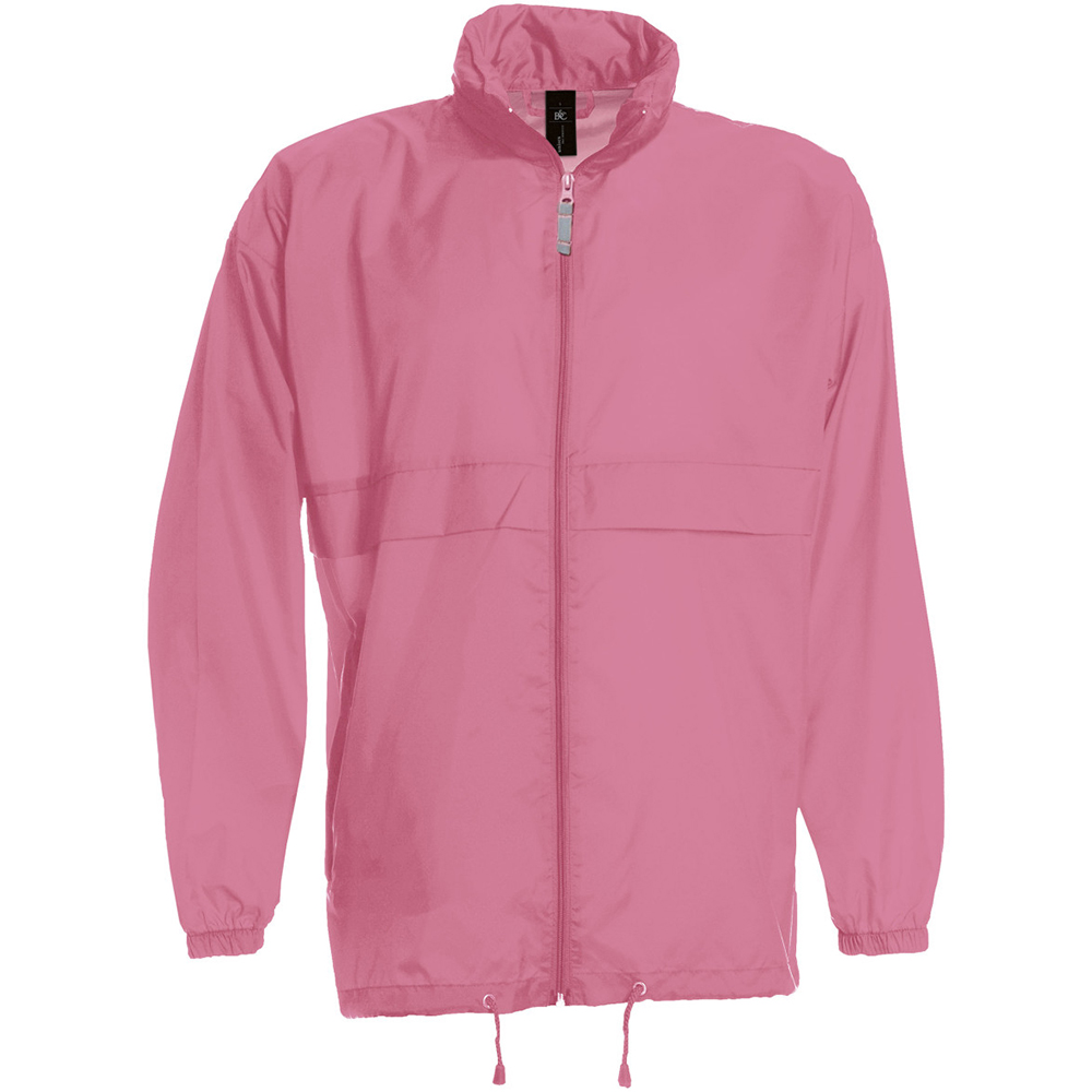 B&C Sirocco Mens Lightweight Jacket / Mens Outer Jackets (M) (Pixel Pink)