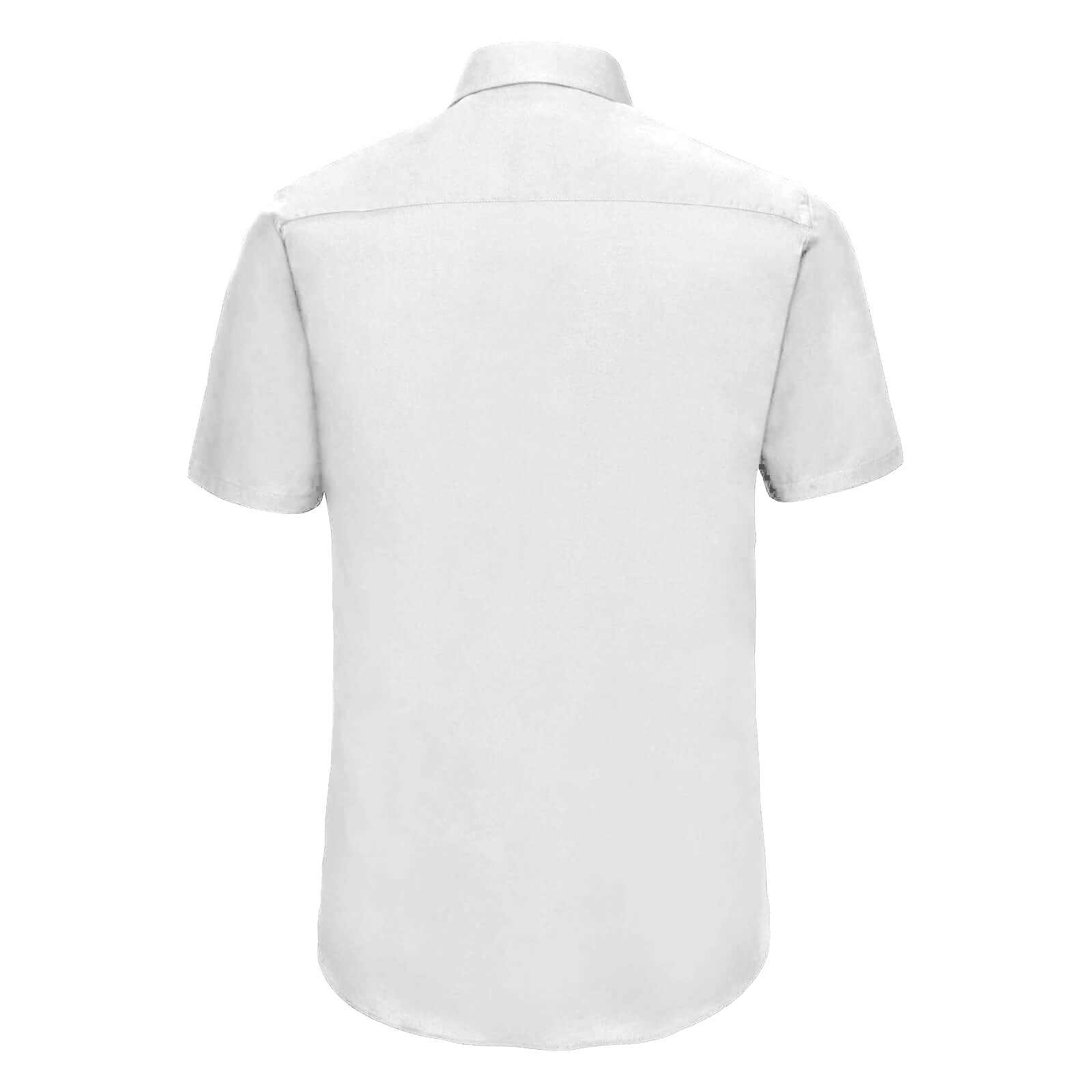 Russell Collection Mens Short Sleeve Easy Care Fitted Shirt (14.5) (Black)