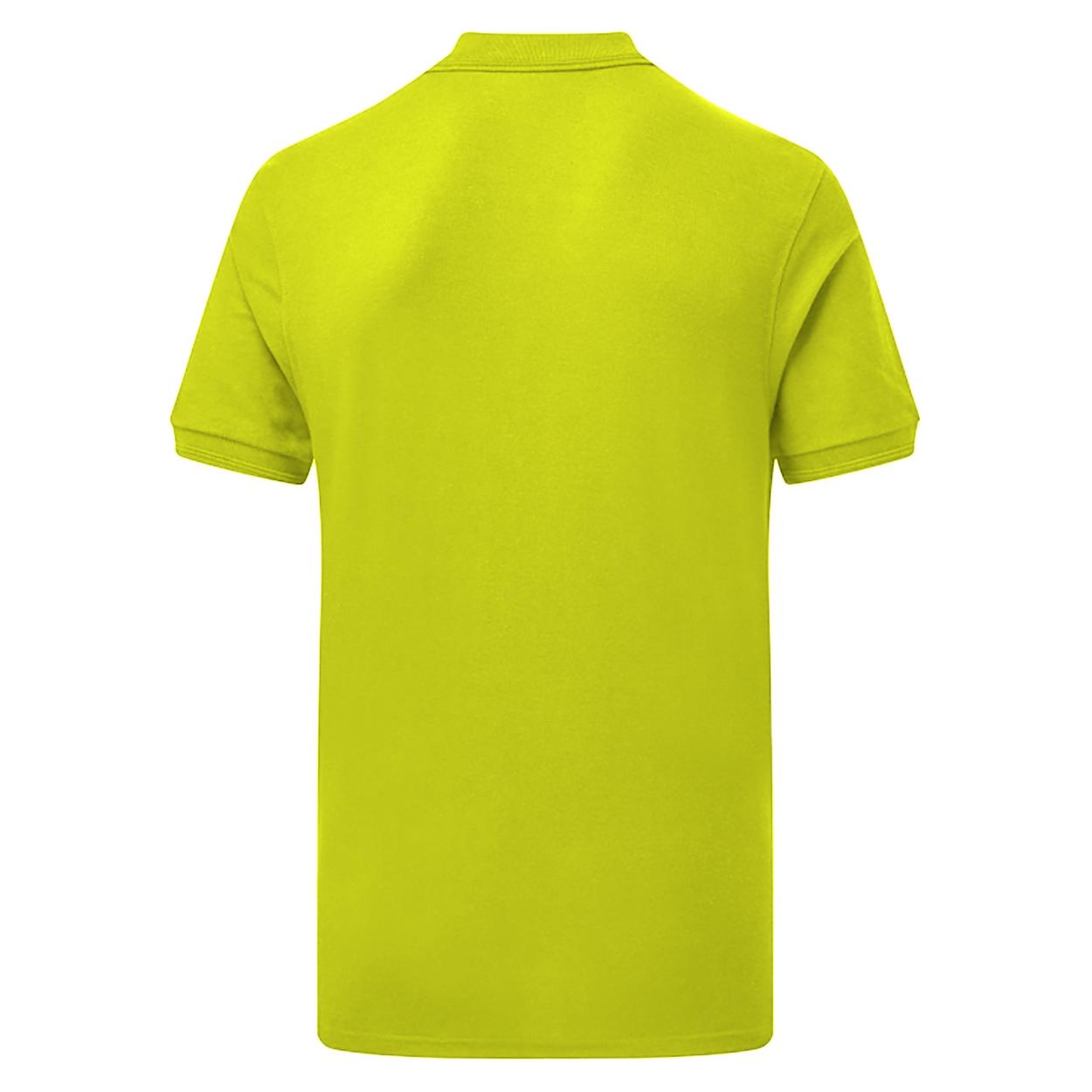 SG Mens Polycotton Short Sleeve Polo Shirt (M) (Sunflower)