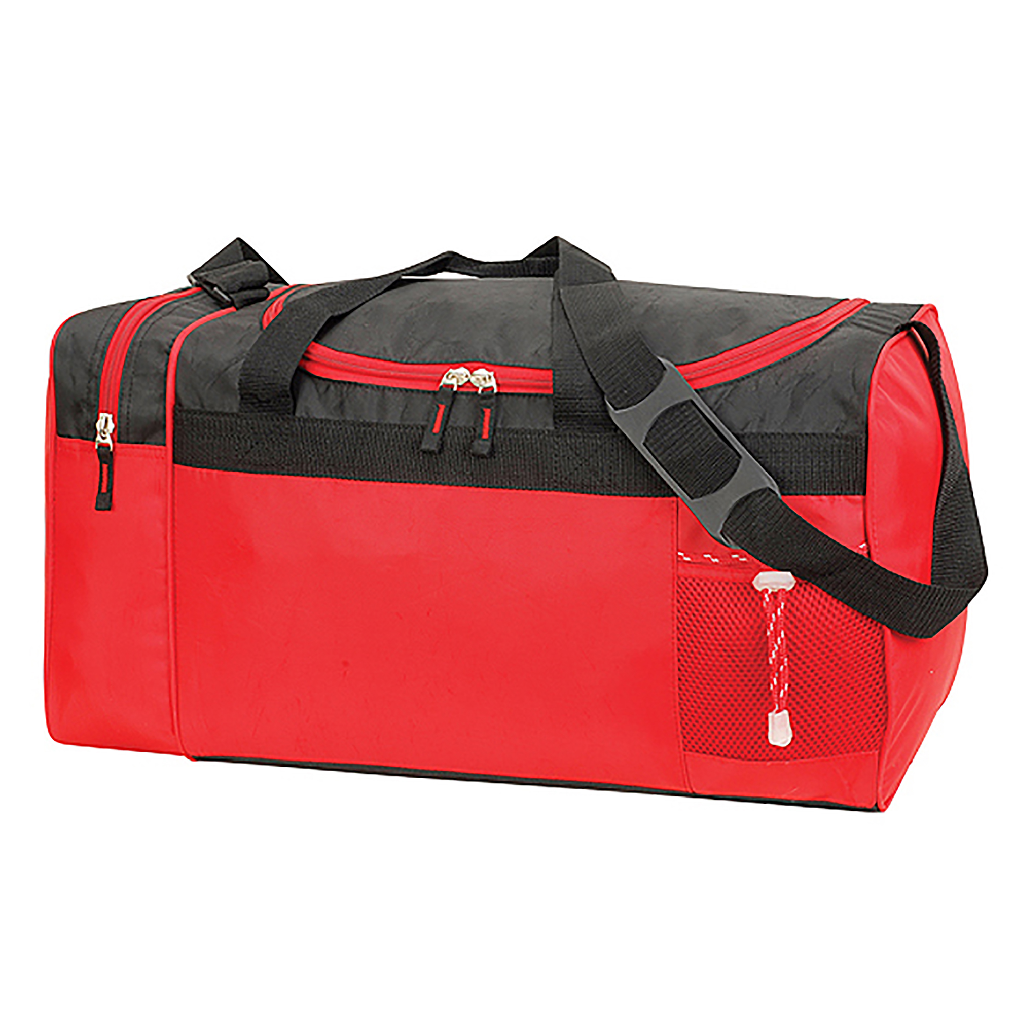 Shugon Cannes Sports/Overnight Holdall / Duffle Bag (33 Litres) (One Size) (Red/Black)