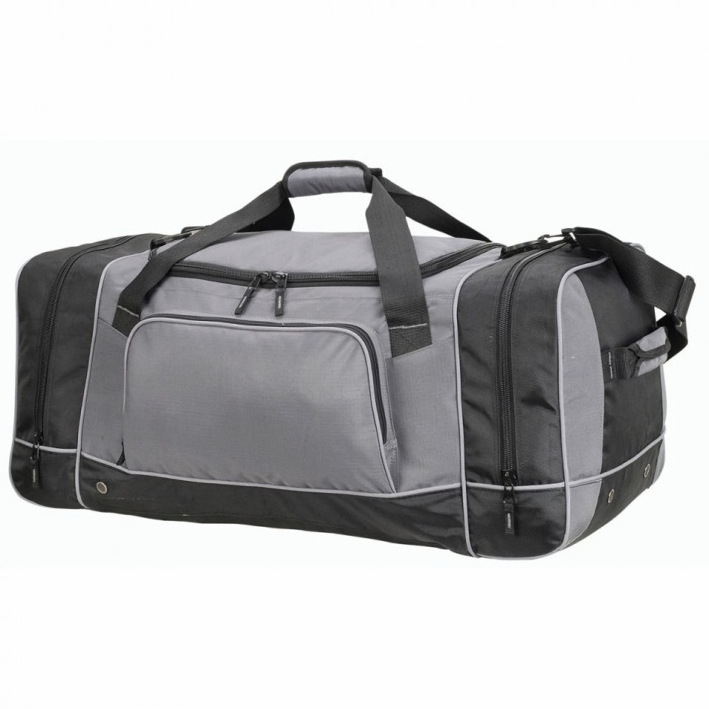 Shugon Chicago Giant Holdall Bag / Duffle Bag (93 Litres) (One Size) (Grey/Black)