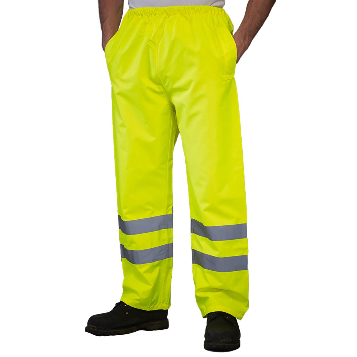 Coupe r/éguli/ère YOKO Homme Pantalon de Travail Haute visibilit/é