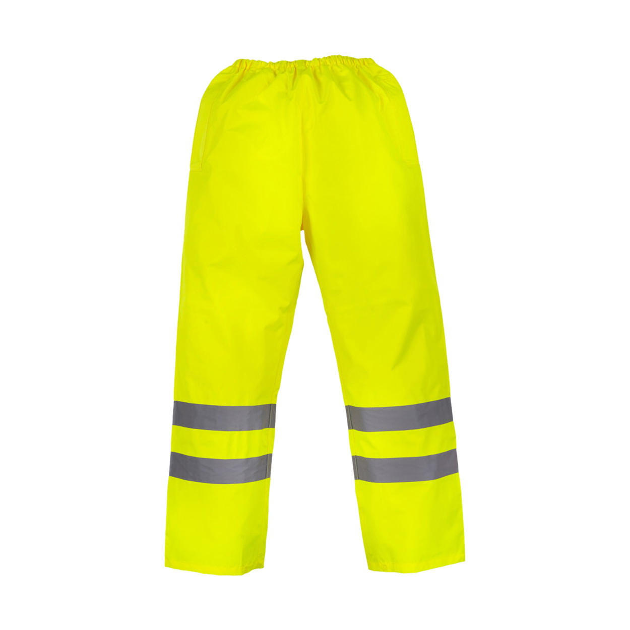 Yoko Mens Hi-Vis Waterproof Contractor Over Trousers (3XL) (Black)