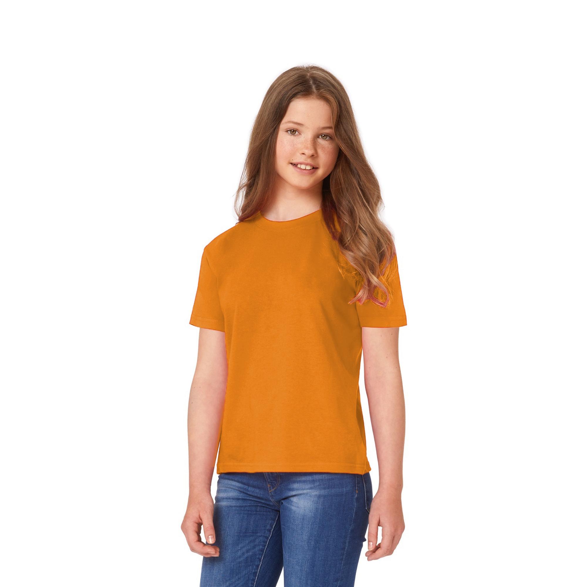 B/&C Kids//Childrens Exact 150 Short Sleeved T-Shirt BC1286