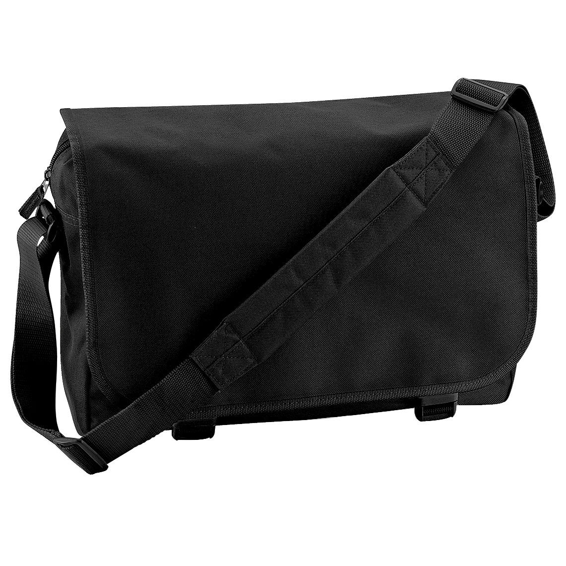Bagbase Adjustable Messenger Bag (11 Litres) (One Size) (Black)