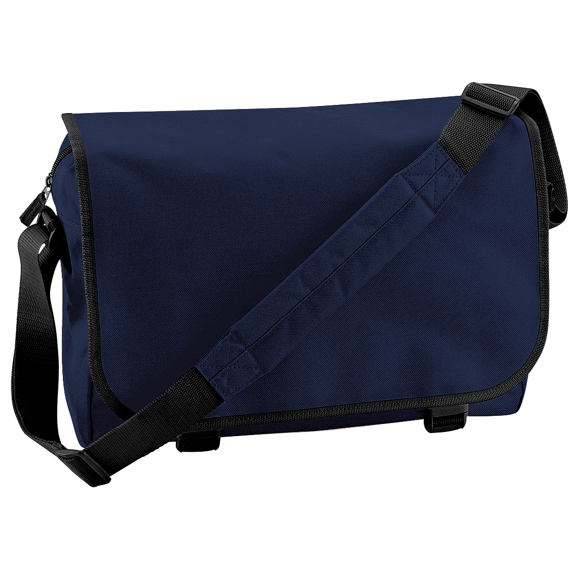 Bagbase Adjustable Messenger Bag (11 Litres) (One Size) (French Navy)