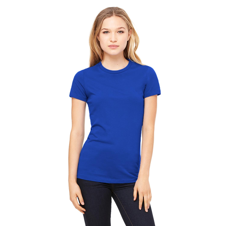 Bella Ladies/Womens The Favourite Tee Short Sleeve T-Shirt (L) (True Royal)
