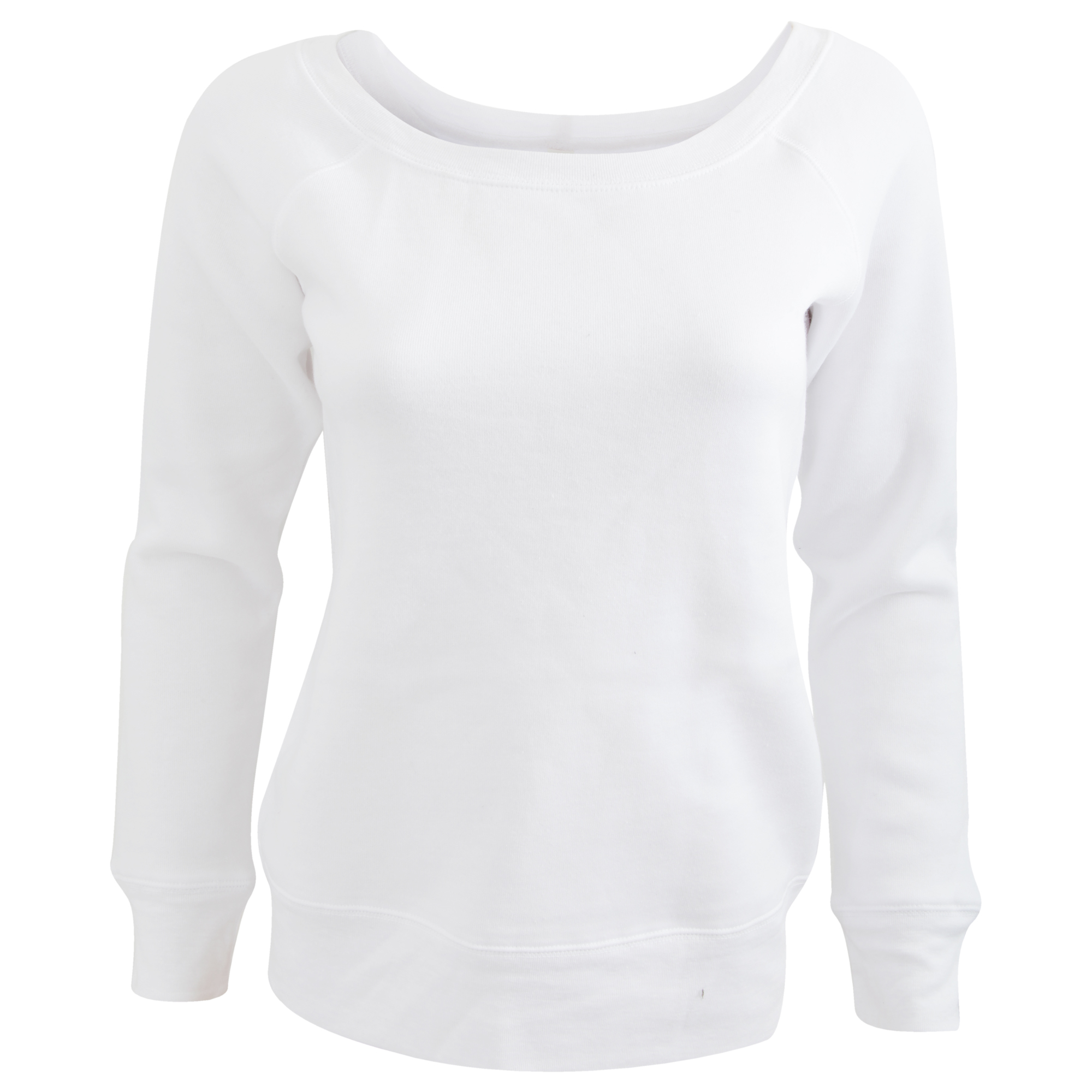 Bella Ladies/Womens Triblend Slouchy Wideneck Sweatshirt (L) (Grey Triblend)