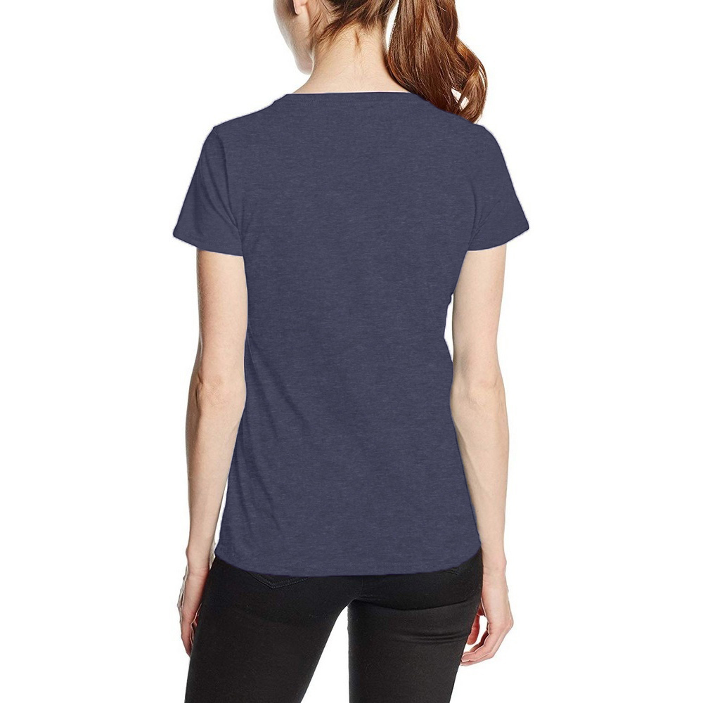Fruit Of The Loom Ladies/Womens Lady-Fit Valueweight Short Sleeve T-Shirt (S) (Vintage Heather Navy)