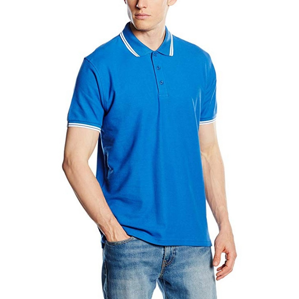 Polo-a-manches-courtes-Fruit-Of-The-Loom-pour-homme-BC1378 miniature 7