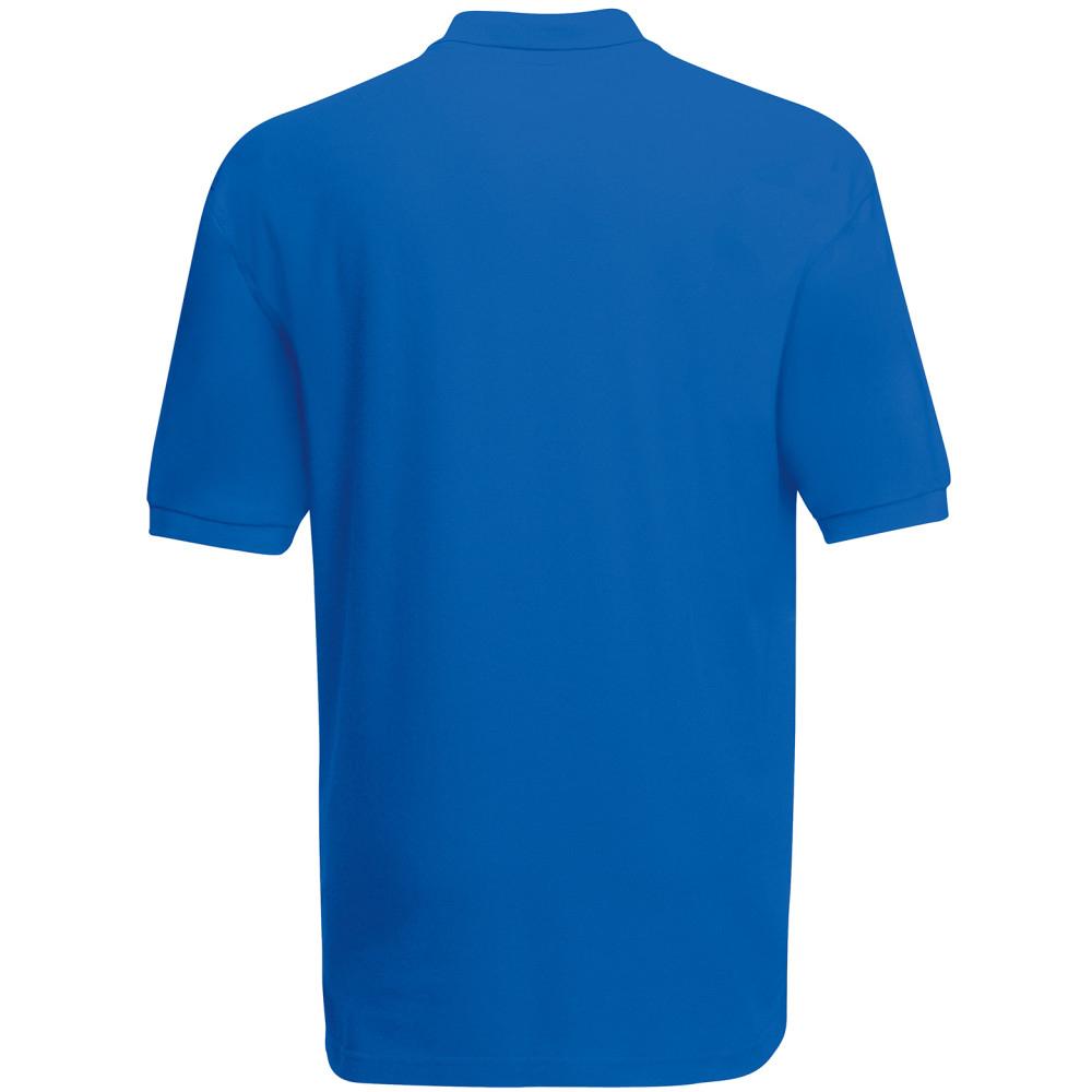 Fruit Of The Loom Premium Mens Short Sleeve Polo Shirt (S) (Kelly Green)