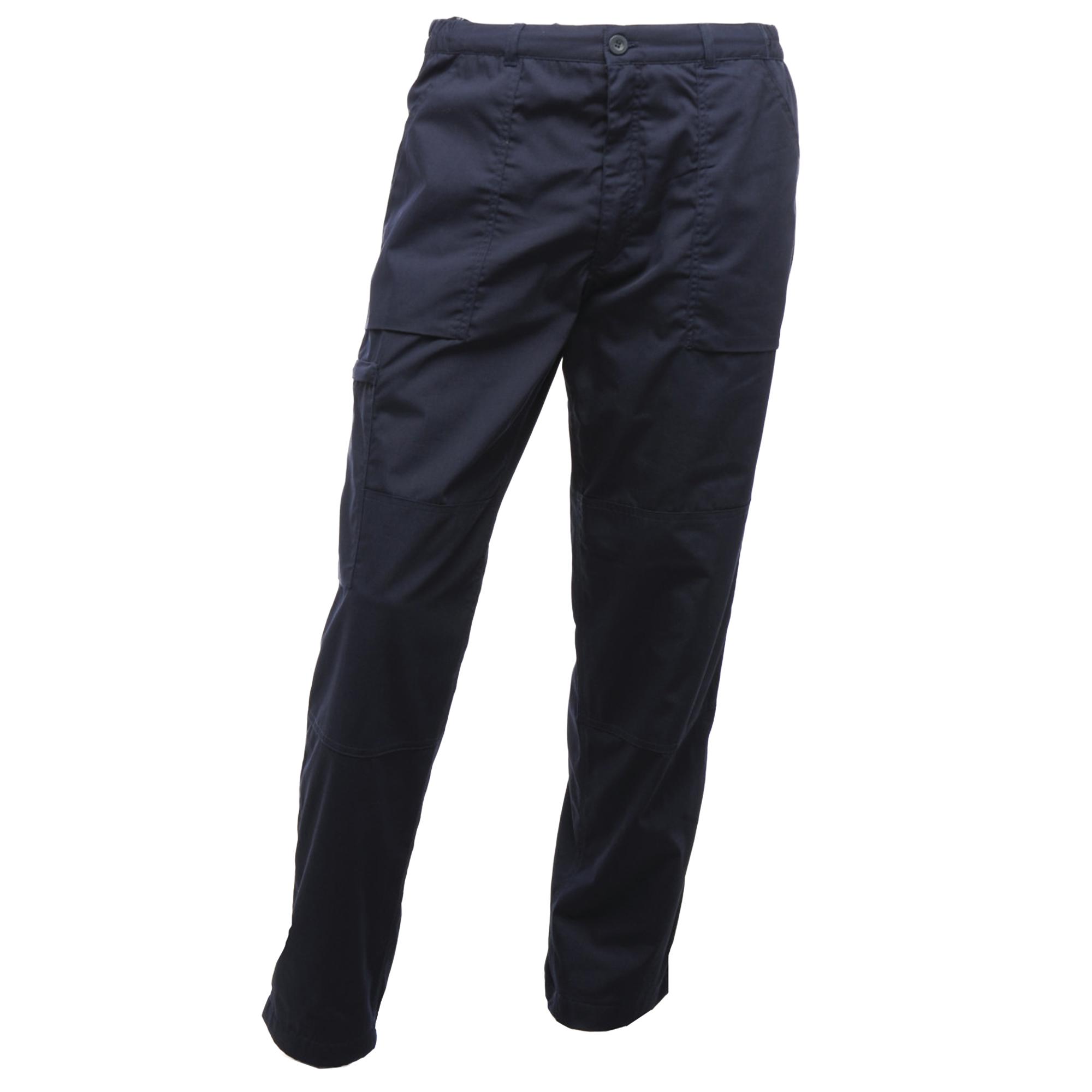 Regatta Mens New Lined Action Trousers (Reg) / Pants (42W x Regular) (Navy Blue)