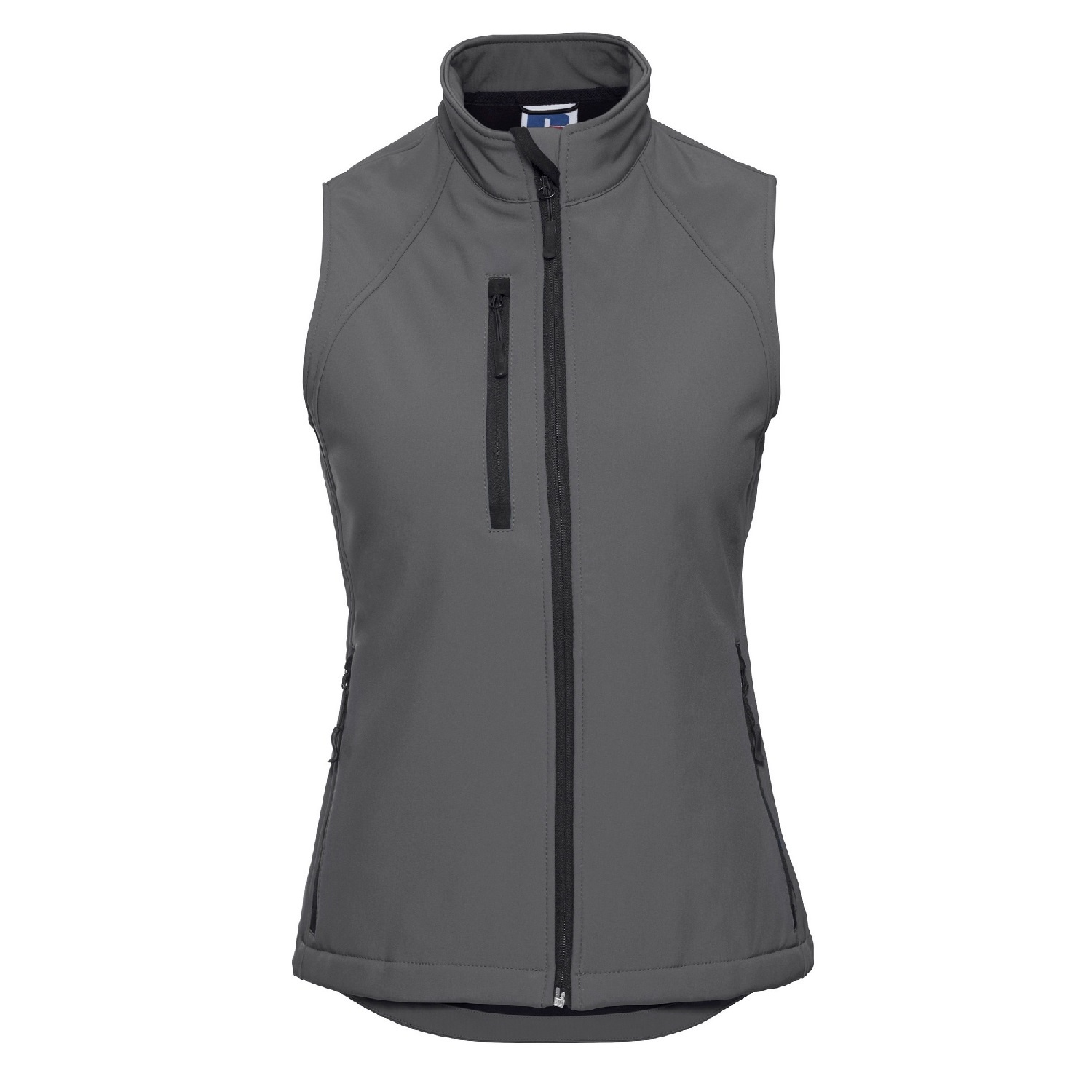 Russell Ladies/Womens Soft Shell Breathable Gilet Jacket (2XL) (Titanium)