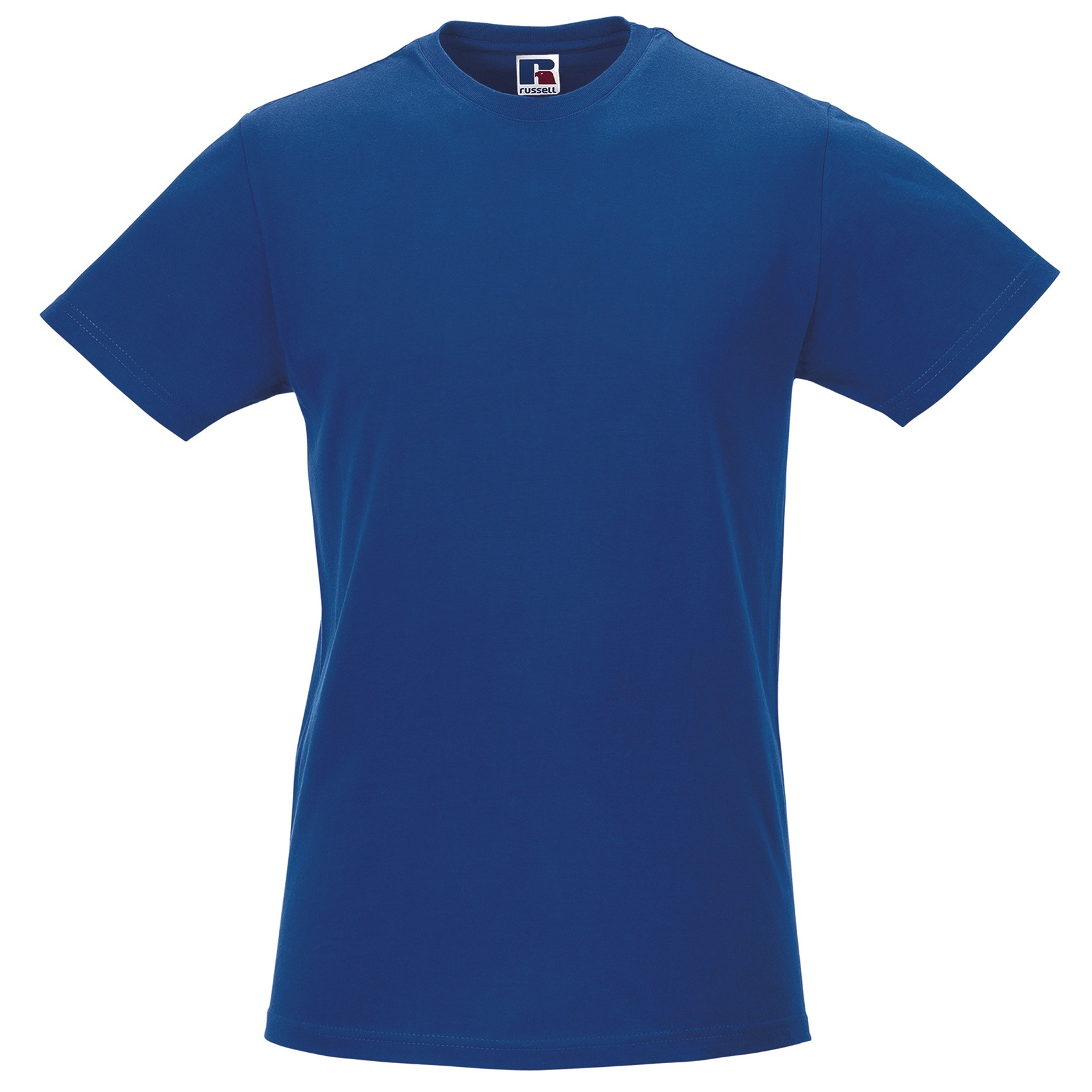 Russell-Mens-Slim-Plain-Blank-100-Cotton-Short-Sleeve-T-Shirt-Tee-BC1515 thumbnail 11