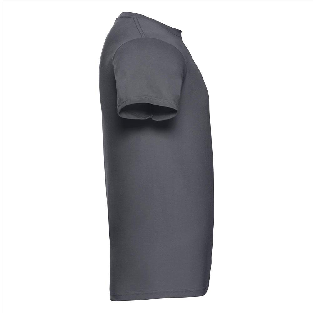 Russell-Mens-Slim-Plain-Blank-100-Cotton-Short-Sleeve-T-Shirt-Tee-BC1515 thumbnail 15