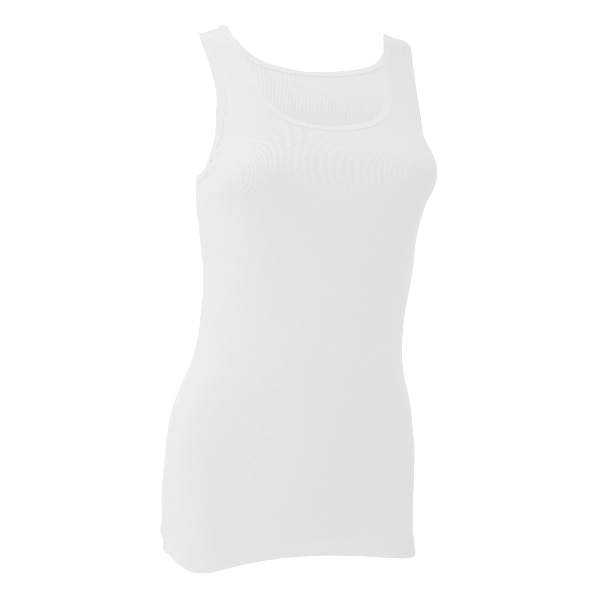 Bella + Canvas Ladies/Womens Tank Top (M) (White)