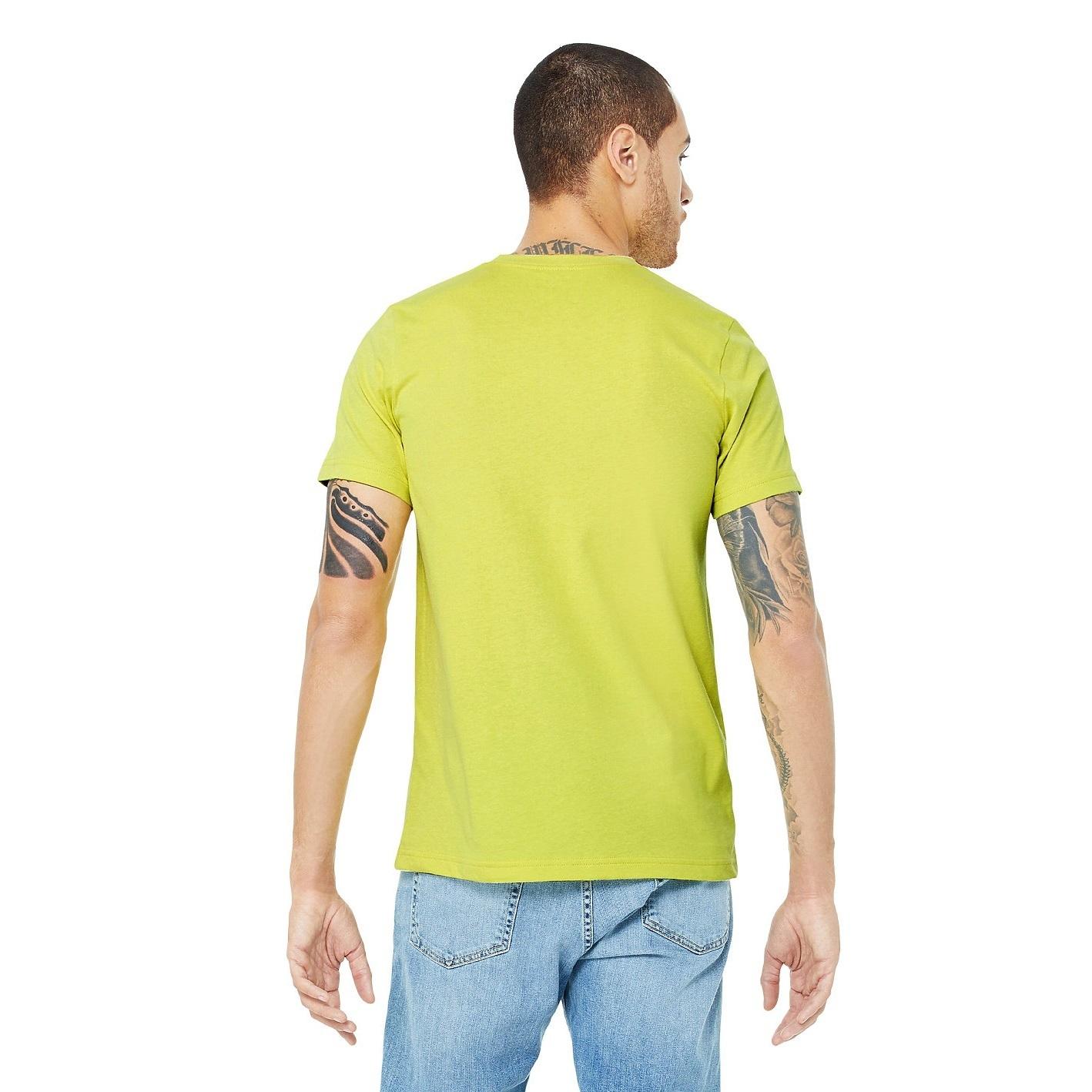 Canvas Unisex Jersey Crew Neck T-Shirt / Mens Short Sleeve T-Shirt (M) (Heather Cardinal)