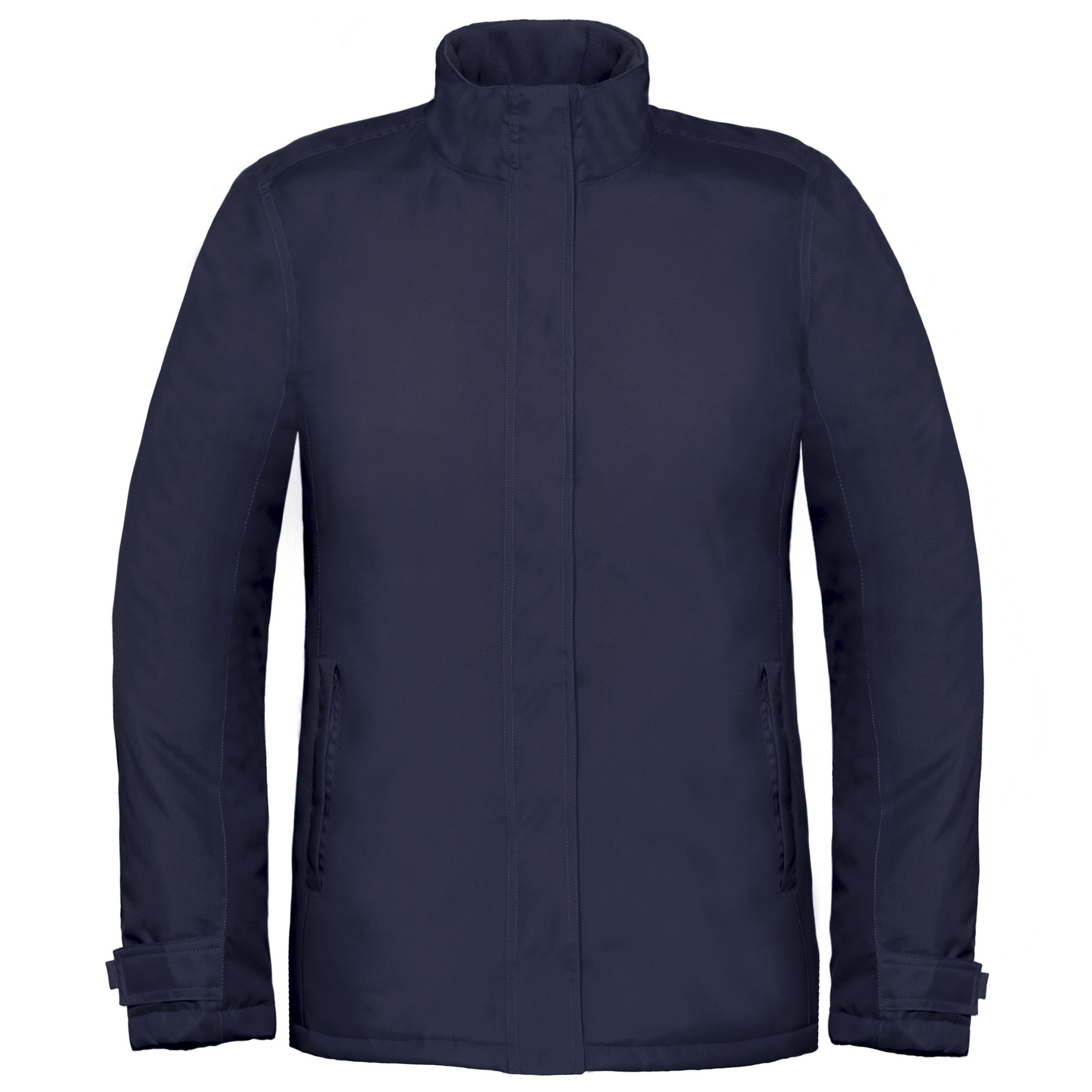 B&C Womens/Ladies Premium Real+ Windproof Waterproof Thermo-Isolated Jacket (L) (Navy Blue)