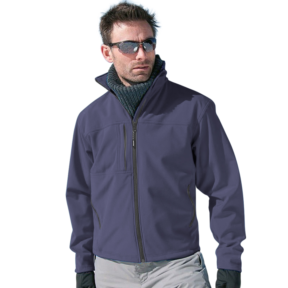 Result Mens Softshell Premium 3 Layer Performance Jacket (Waterproof, Windproof & Breathable) (XL) (Bottle Green)