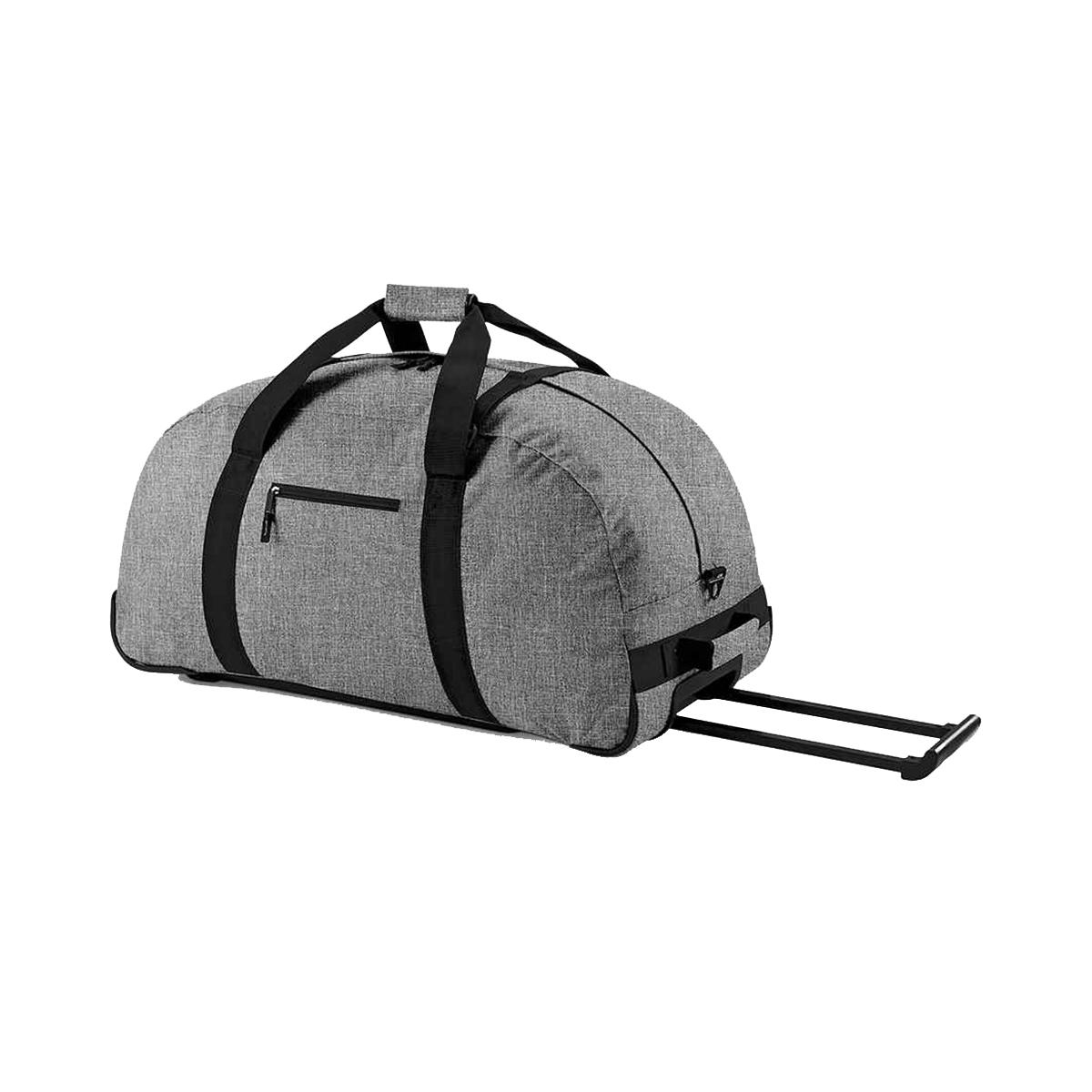 Bagbase Wheelie Holdall / Duffle Bag (105 Litres) (One Size) (Grey Marl)