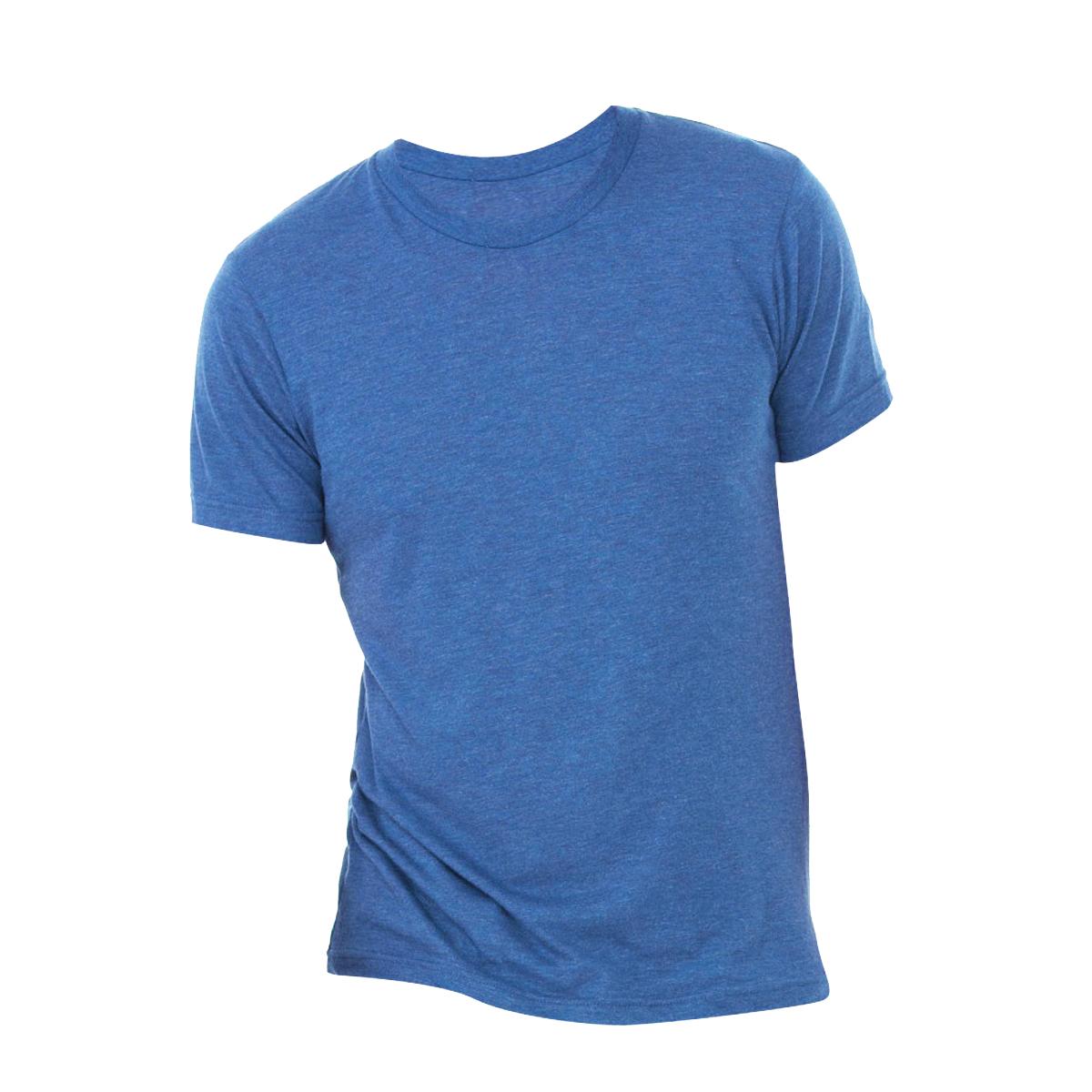 Canvas Mens Triblend Crew Neck Plain Short Sleeve T-Shirt (2XL) (Mint Triblend)