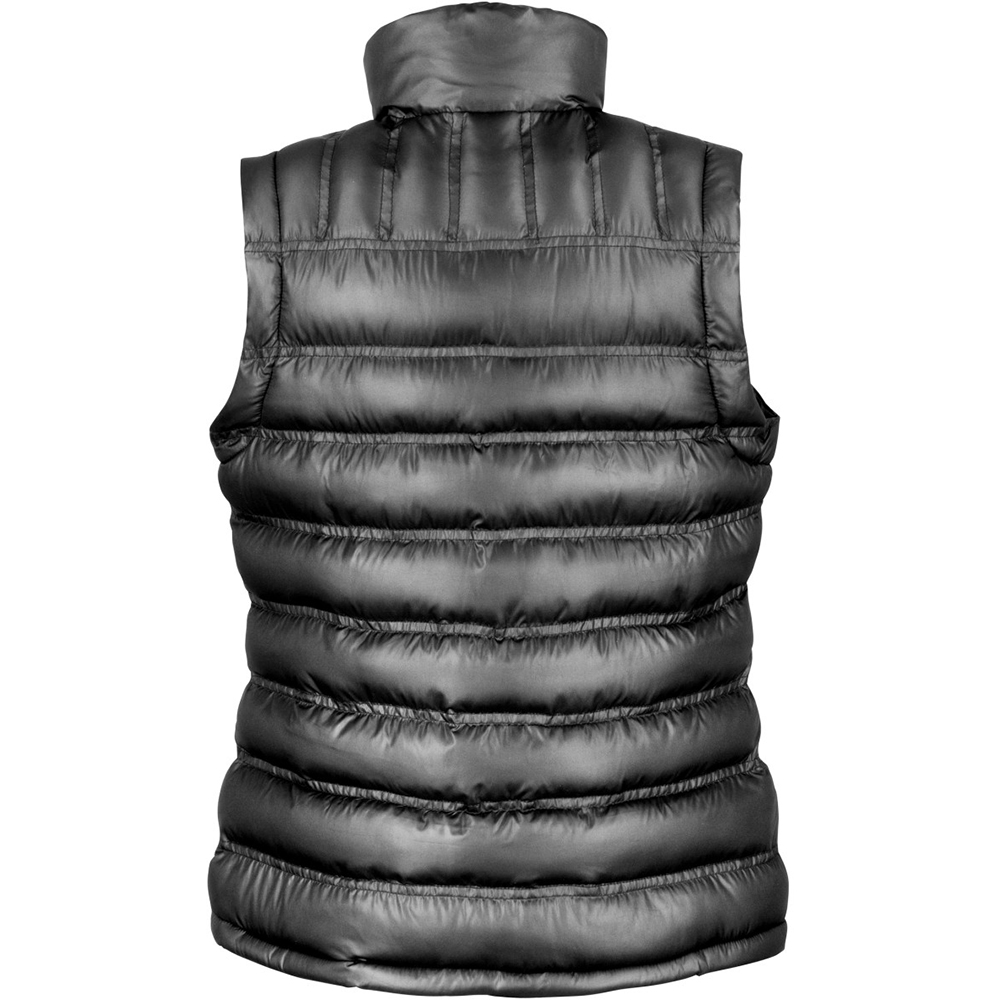 Result Ladies/Womens Ice Bird Padded Bodywarmer / Gilet Jacket (XS) (Black)