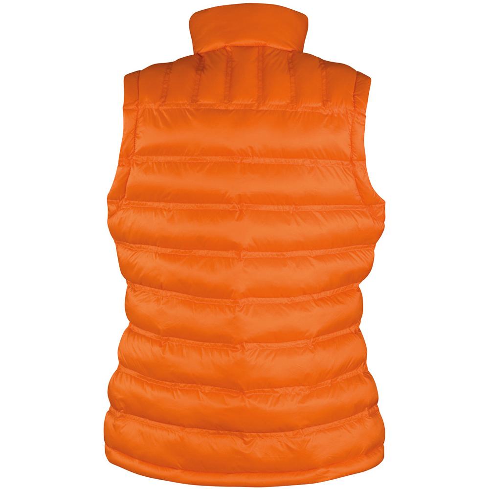 Result Ladies/Womens Ice Bird Padded Bodywarmer / Gilet Jacket (S) (Orange)