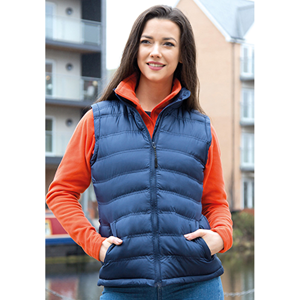 Result Ladies/Womens Ice Bird Padded Bodywarmer / Gilet Jacket (S) (Royal)