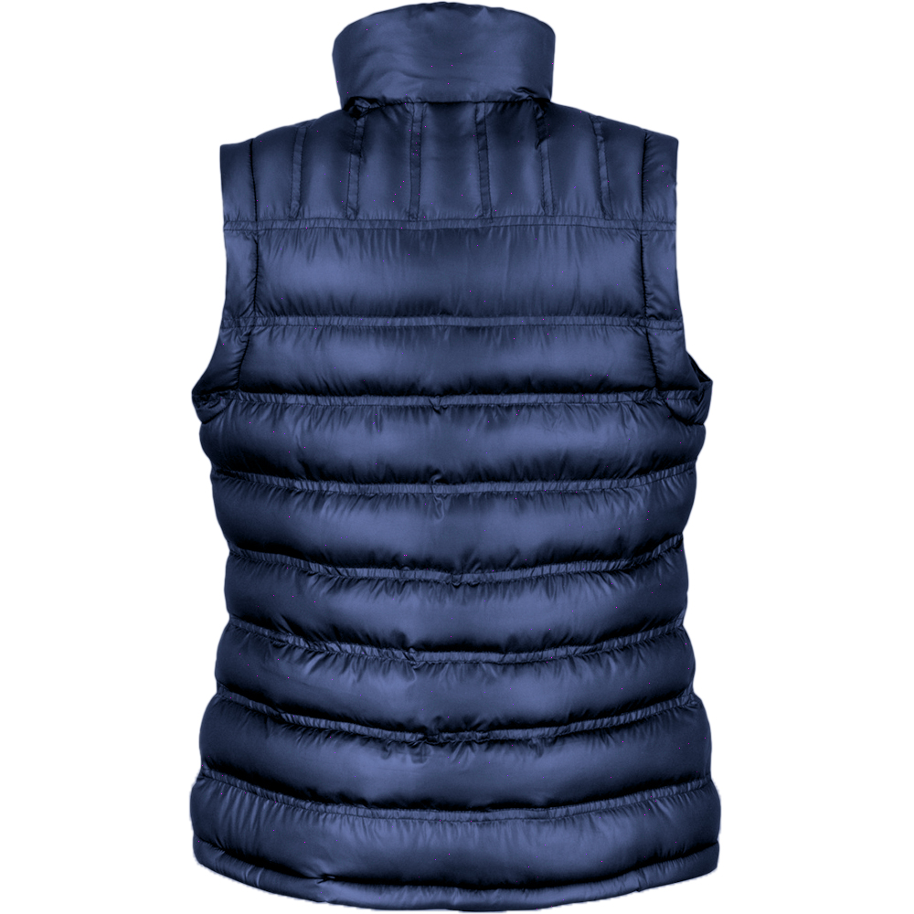 Result Ladies/Womens Ice Bird Padded Bodywarmer / Gilet Jacket (XS) (Frost Grey)