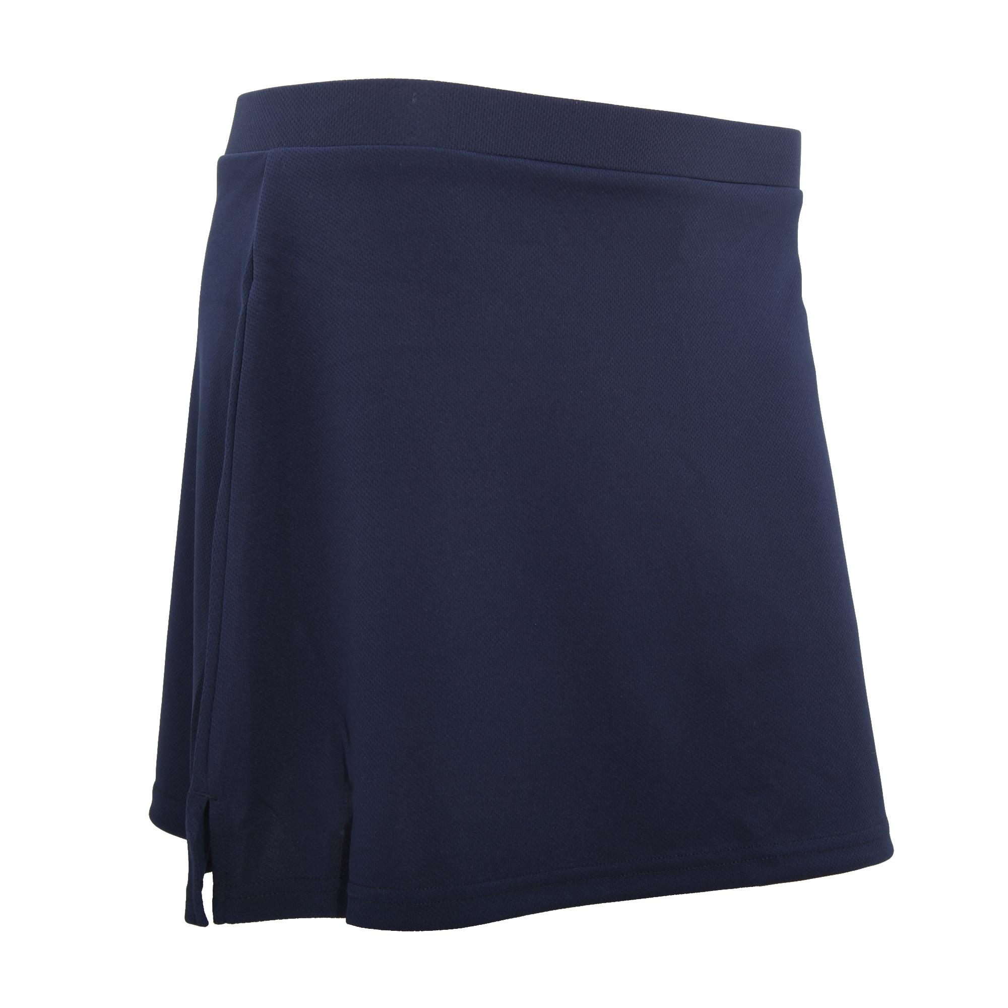Spiro Ladies/Womens Windproof Quick Dry Sports Skort (XL) (Navy Blue)