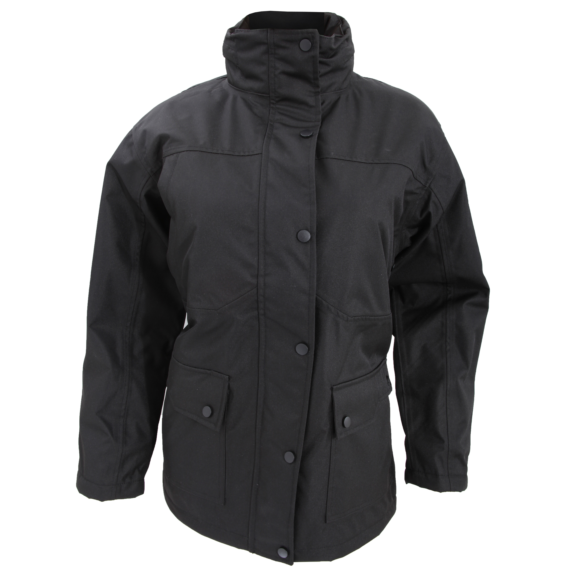 Result Ladies/Womens Platinum Work Jacket / Coat (S) (Black)