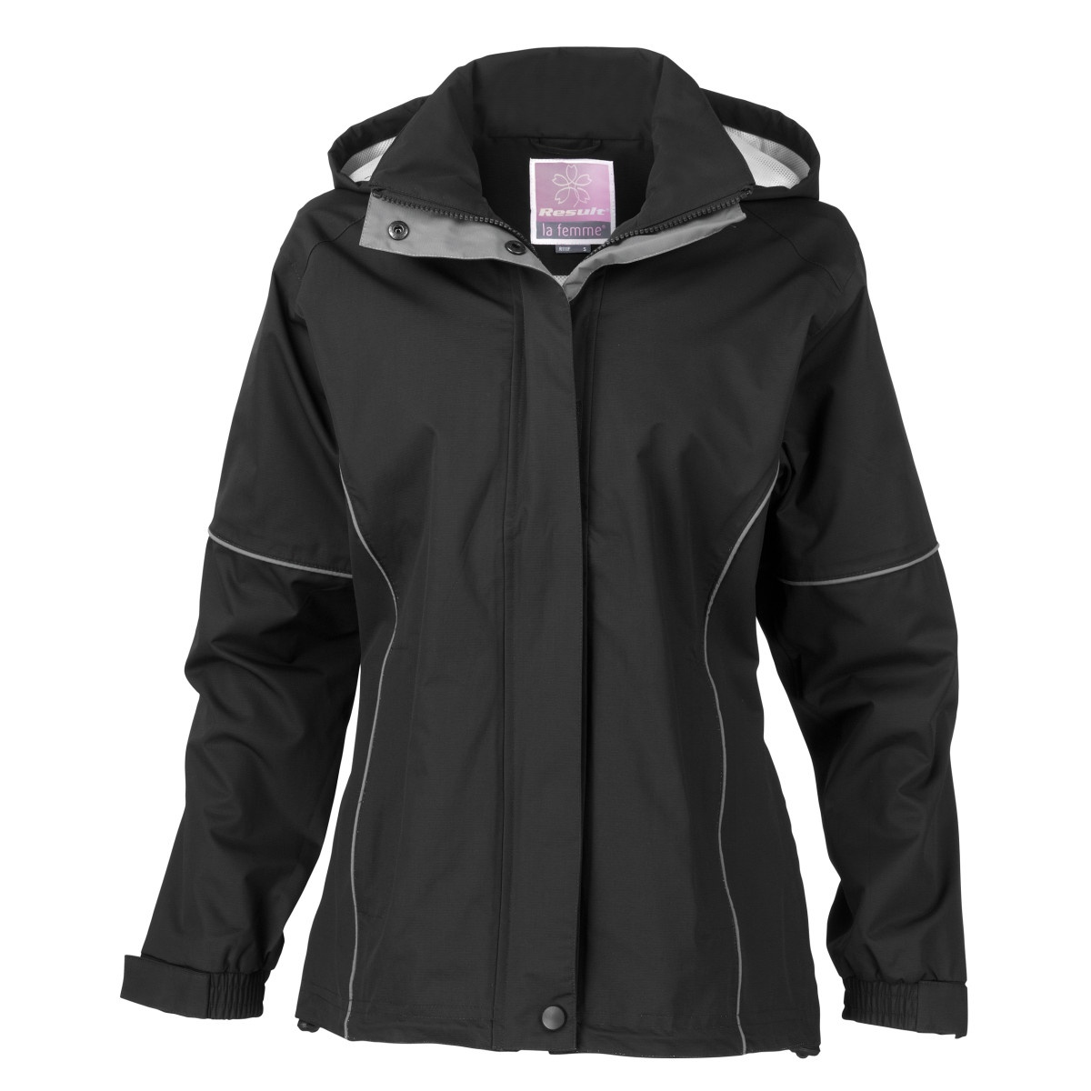Result Womens/Ladies Urban Fell Lightweight Technical Jacket (Waterproof & Windproof) (XL) (Black)