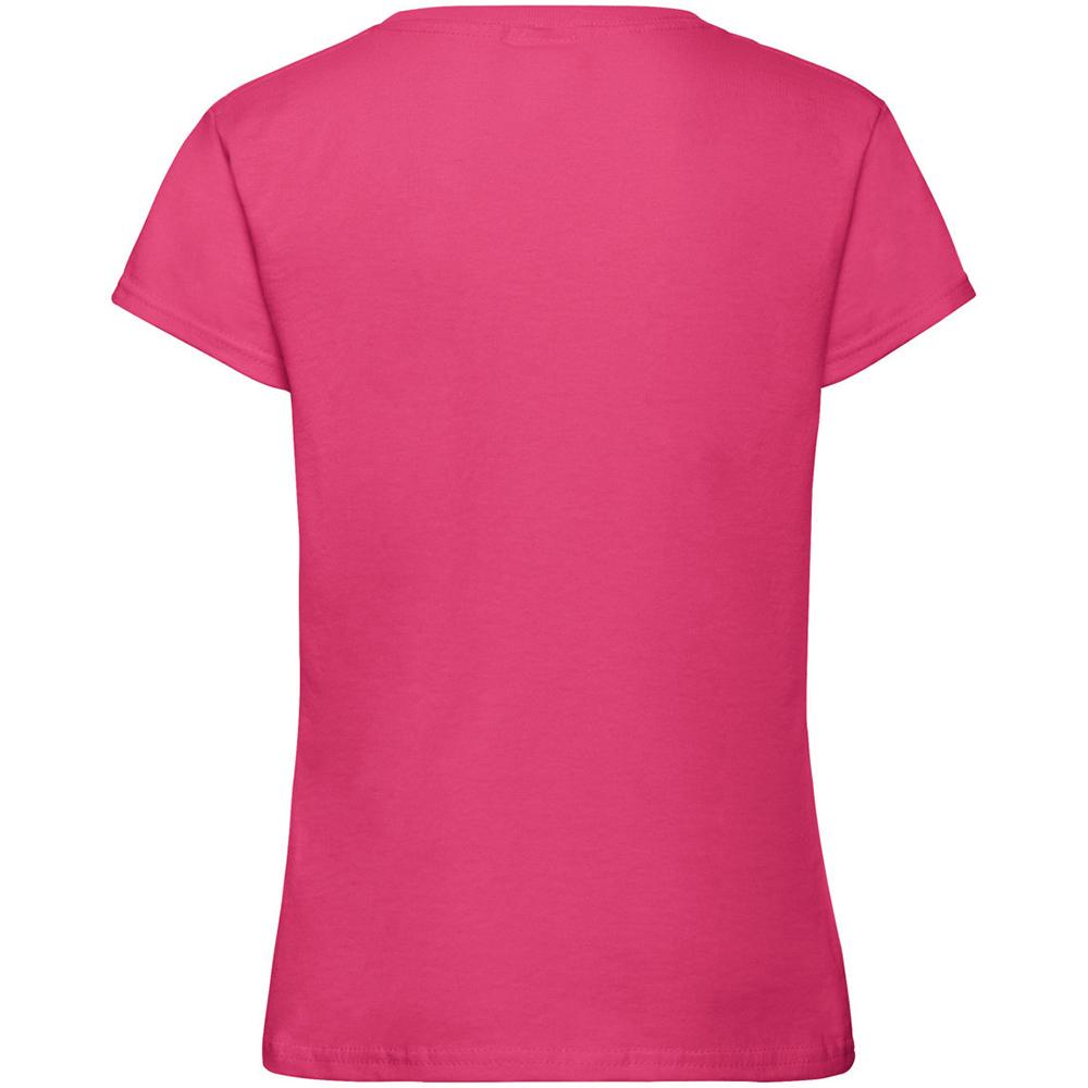 Fruit Of The Loom Enfants Filles Coton Uni Femme Compatible avec T-Shirt