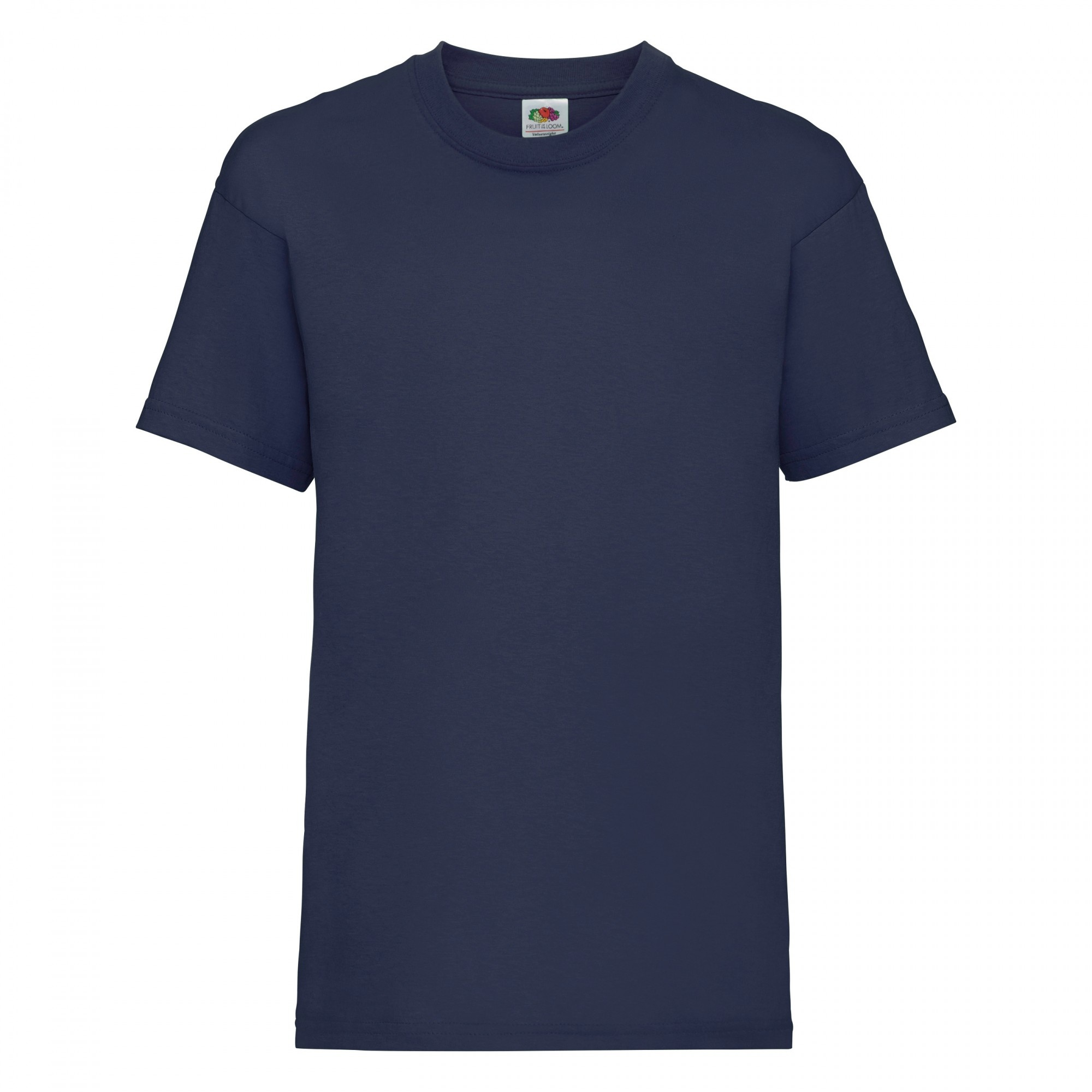 Fruit Of The Loom Childrens/Kids Unisex Valueweight Short Sleeve T-Shirt (14-15) (Navy)