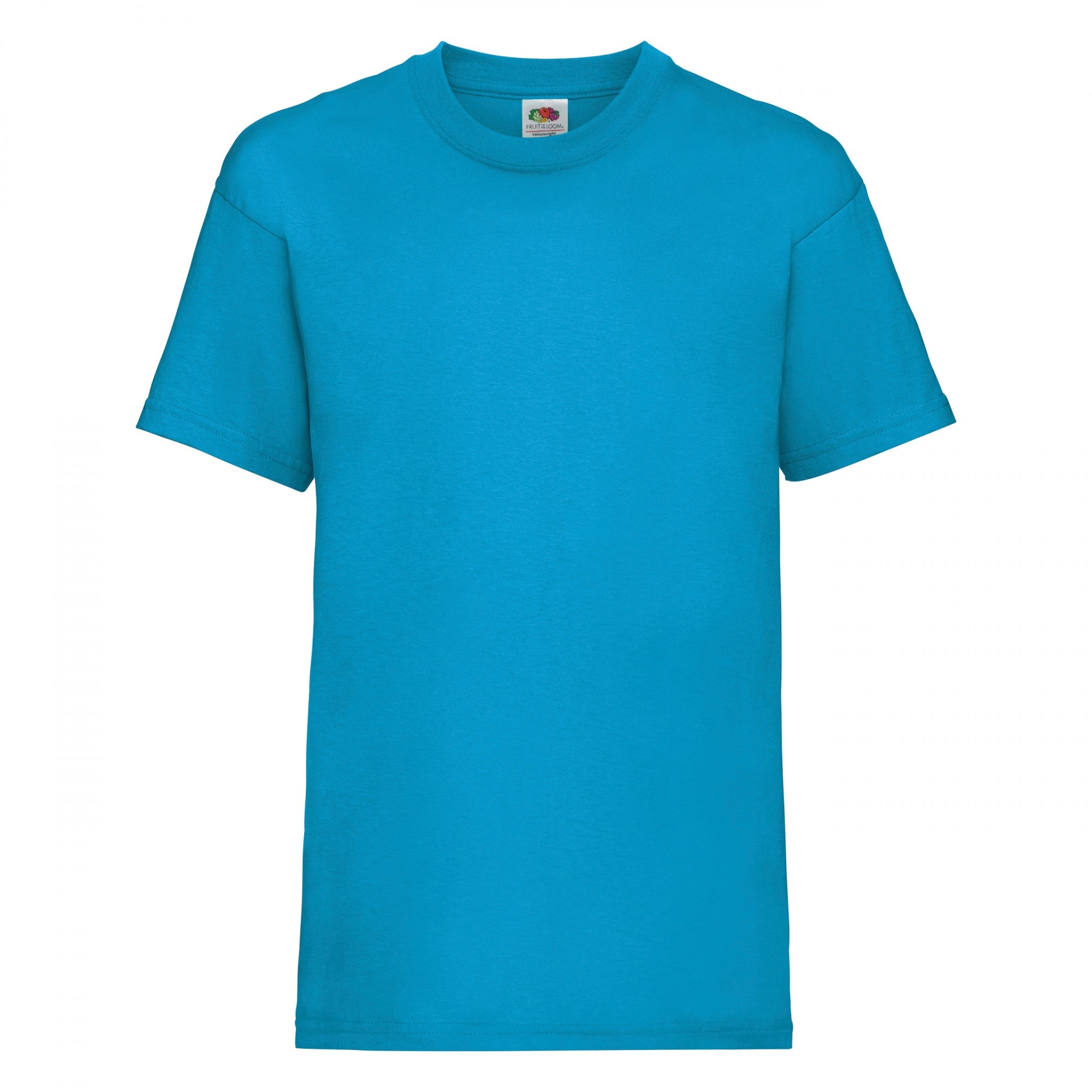 Fruit Of The Loom Childrens/Kids Unisex Valueweight Short Sleeve T-Shirt (5-6) (Azure Blue)