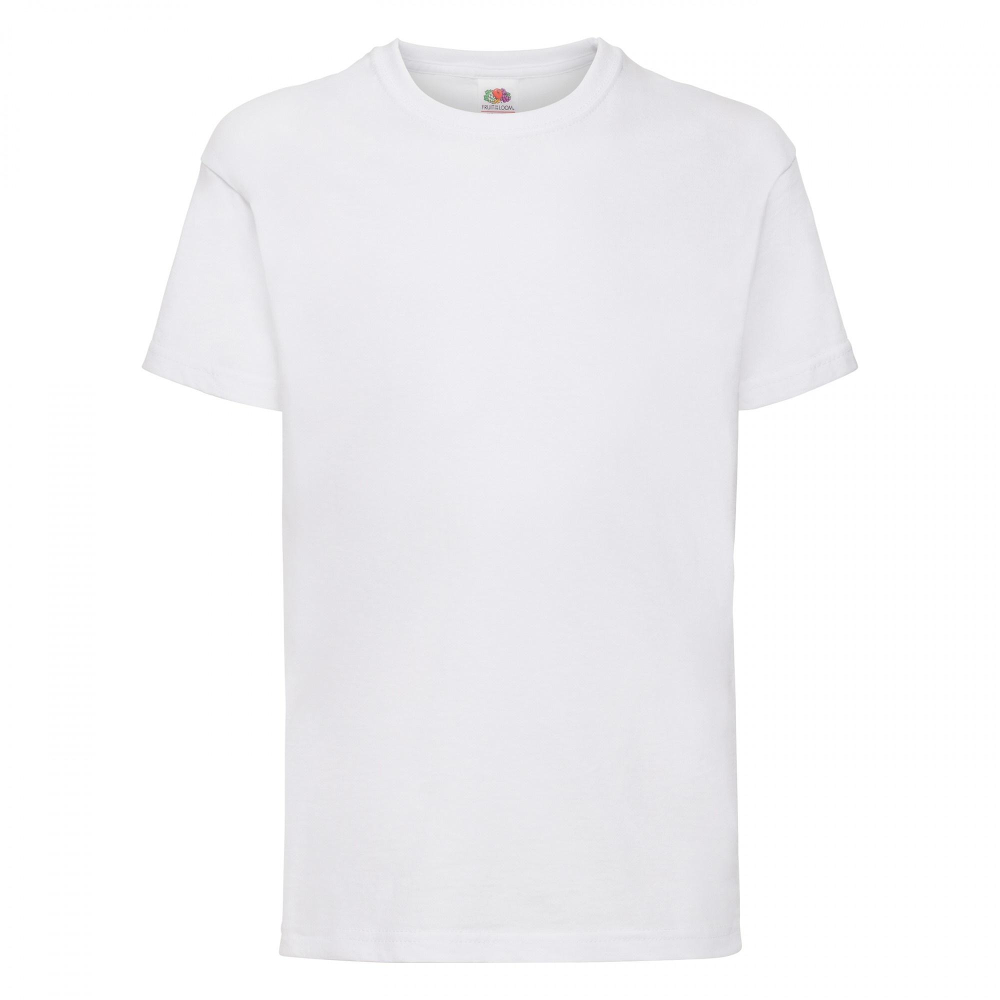Fruit-Of-The-Loom-Camiseta-basica-de-manga-corta-unisex-100-BC329