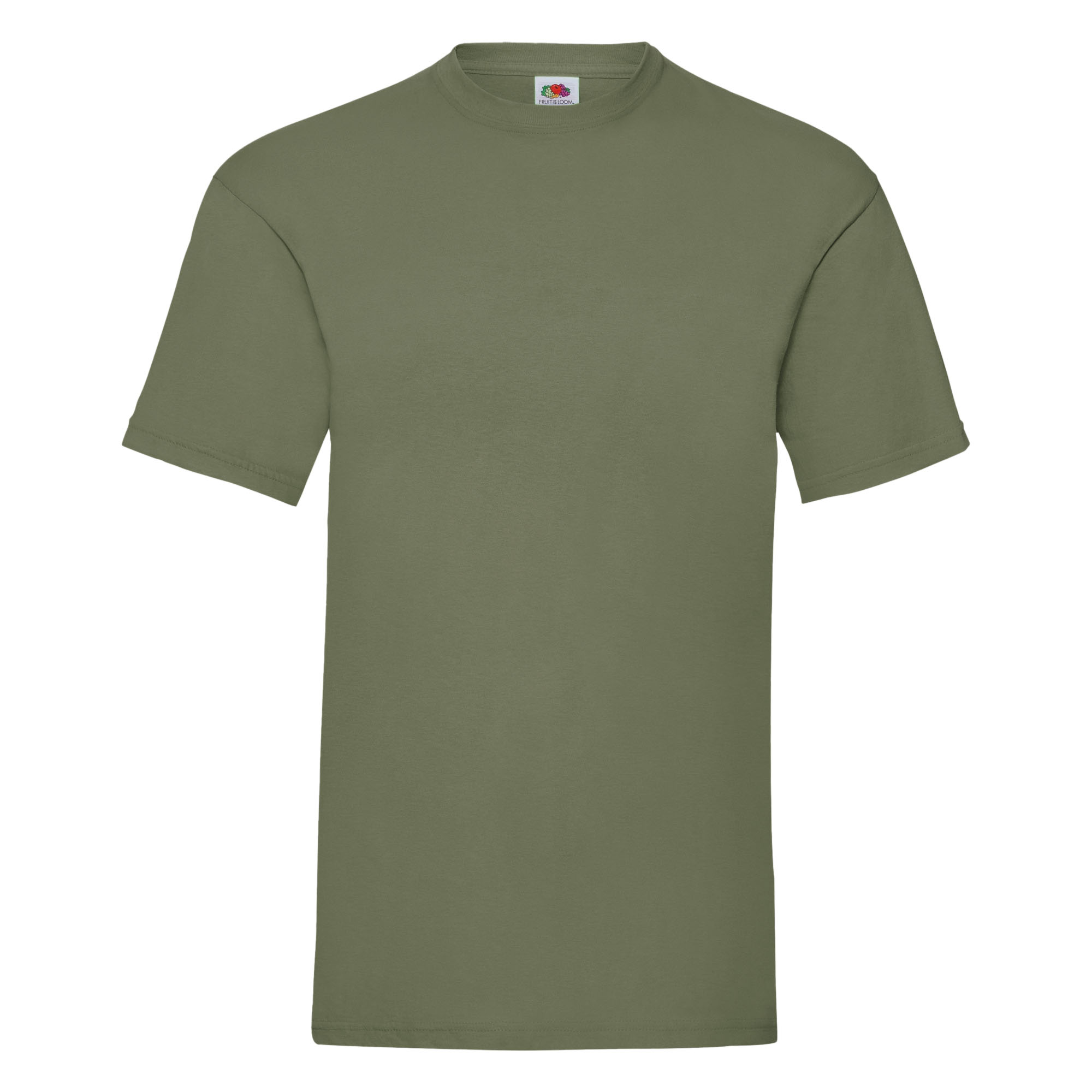 Fruit Of The Loom Mens Valueweight Short Sleeve T-Shirt (L) (Natural)