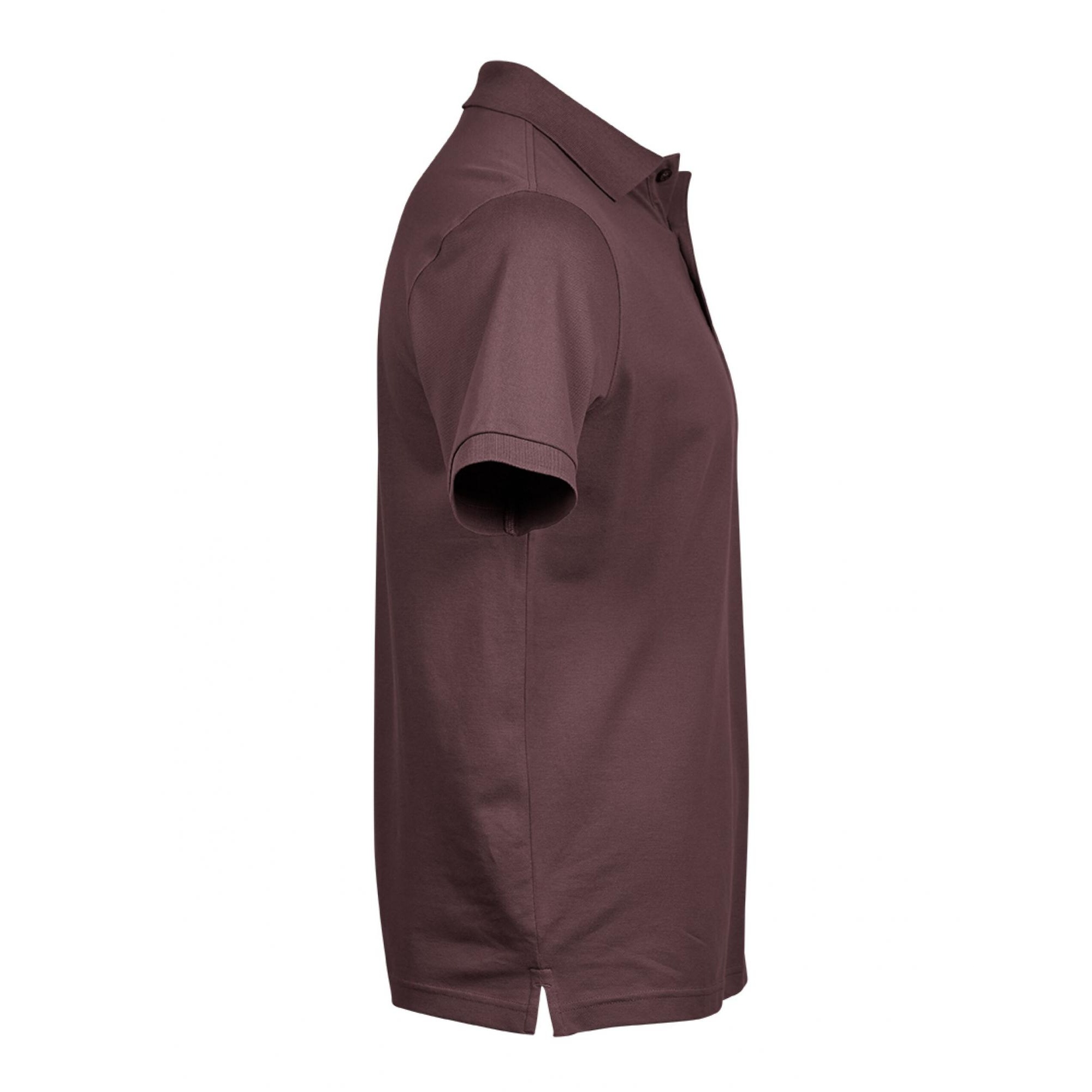 Tee Jays Mens Luxury Stretch Short Sleeve Polo Shirt (3XL) (White)
