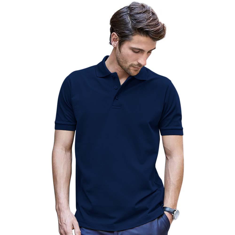 Tee Jays Mens Luxury Stretch Short Sleeve Polo Shirt (M) (Dark Olive)