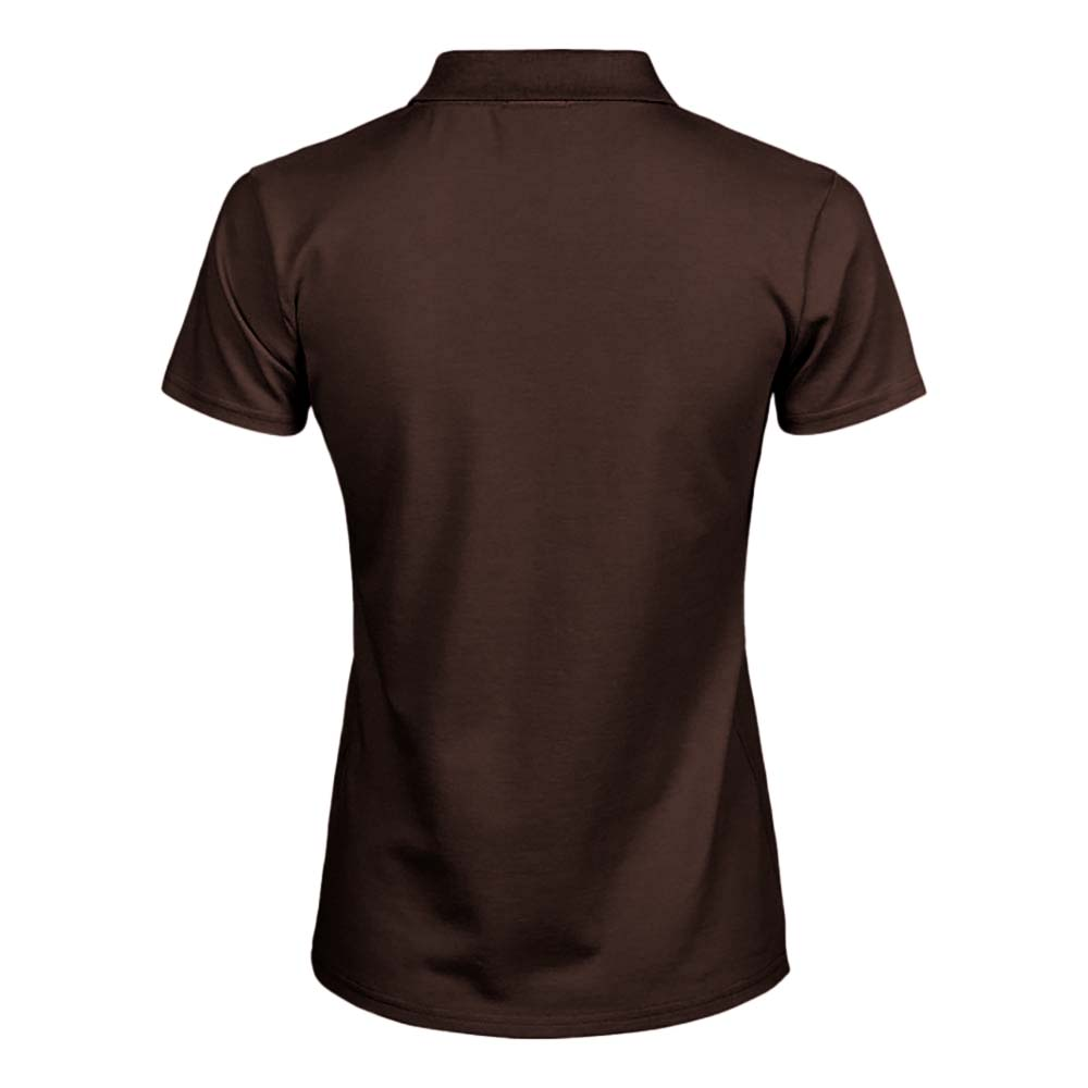 Tee Jays Womens/Ladies Luxury Stretch Short Sleeve Polo Shirt (3XL) (Forest Green)