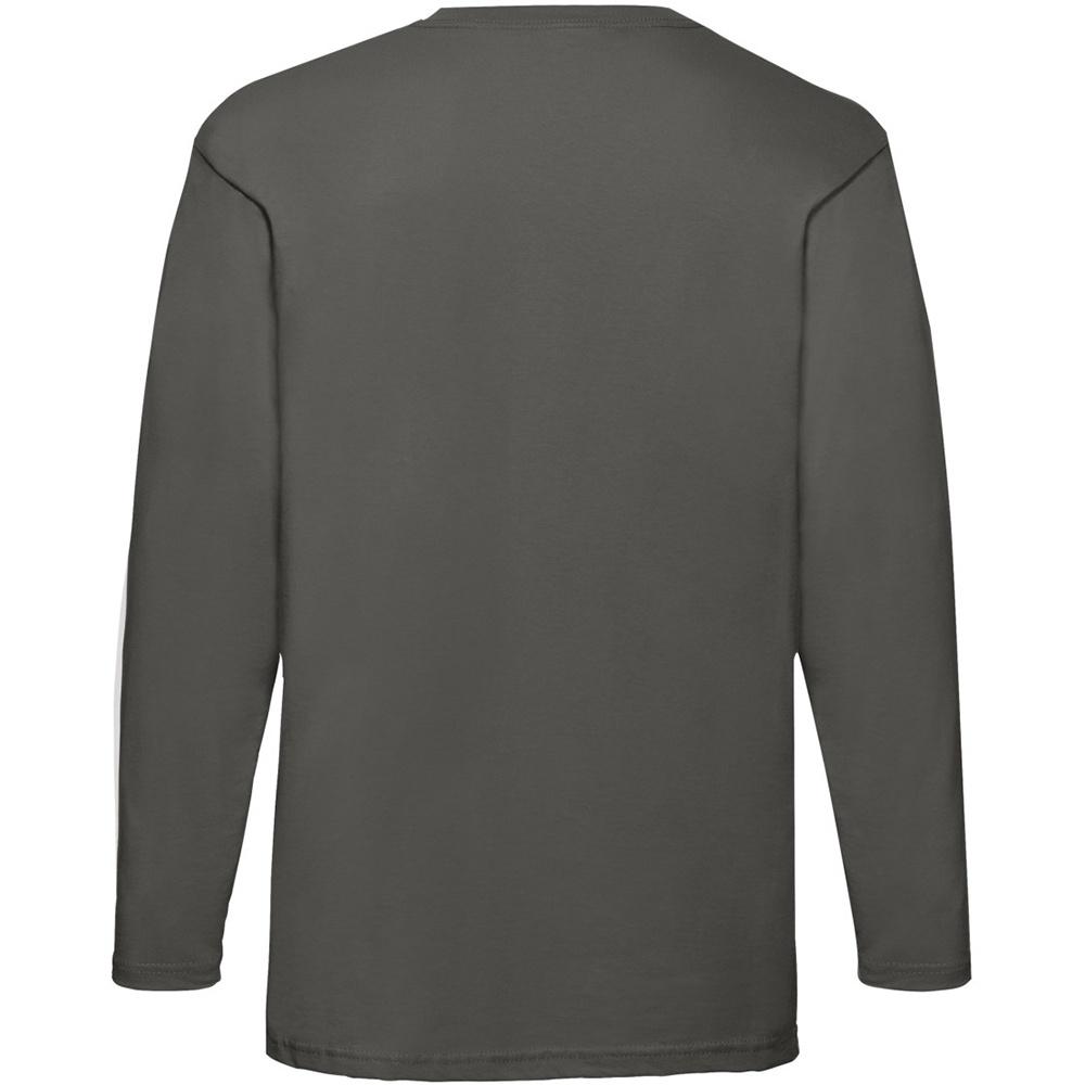 miniature 13 - T-shirt à manches longues Fruit Of The Loom, 100% coton, pour homme (BC331)