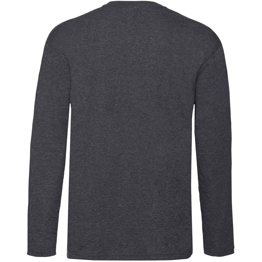 miniature 19 - T-shirt à manches longues Fruit Of The Loom, 100% coton, pour homme (BC331)