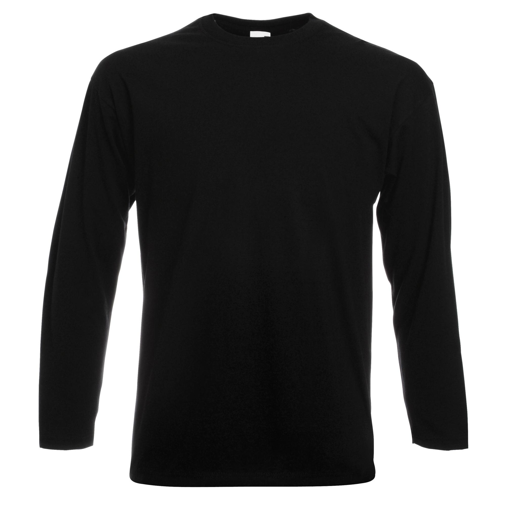 miniature 17 - T-shirt à manches longues Fruit Of The Loom, 100% coton, pour homme (BC331)
