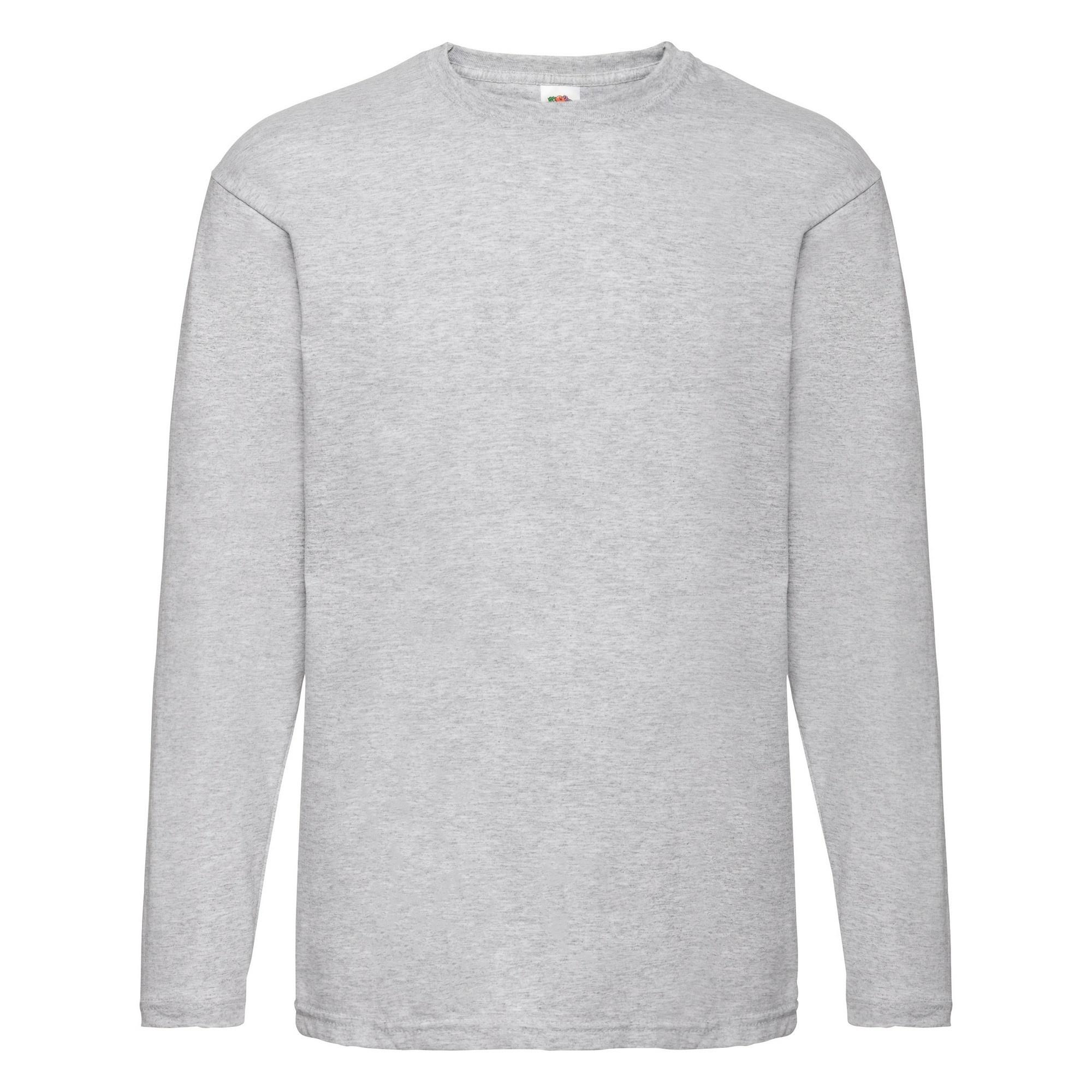 miniature 11 - T-shirt à manches longues Fruit Of The Loom, 100% coton, pour homme (BC331)