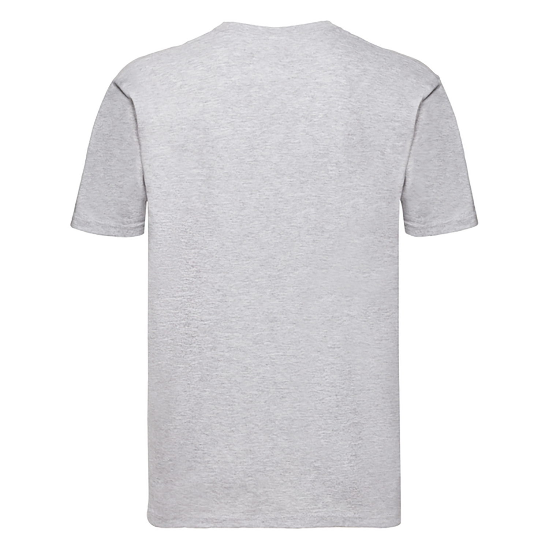 Fruit Of The Loom Mens Super Premium Short Sleeve Crew Neck T-Shirt (L) (Bottle Green)