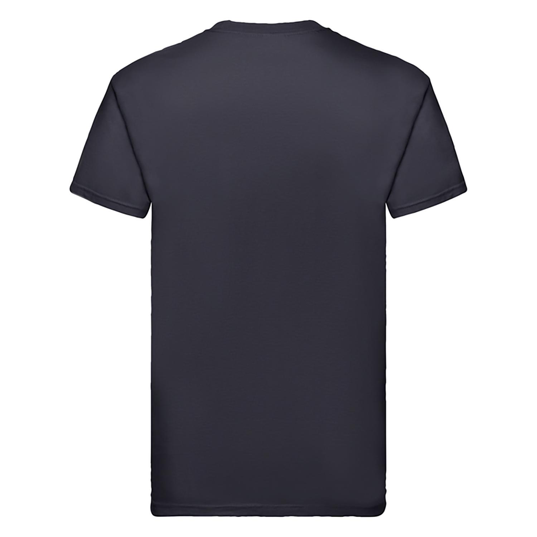 Fruit Of The Loom Mens Super Premium Short Sleeve Crew Neck T-Shirt (S) (Light Graphite)