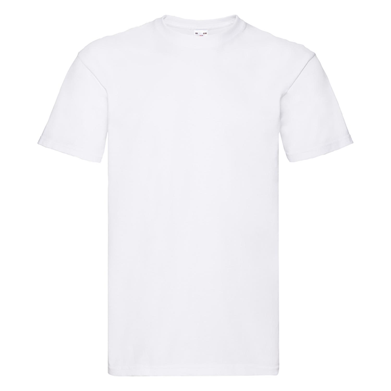 1e820205 Fruit Of The Loom Mens Super Premium Short Sleeve Crew Neck T-Shirt ...