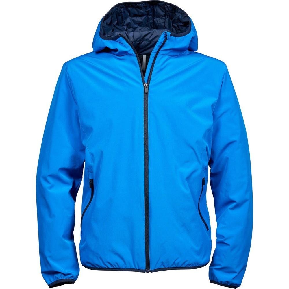 Tee Jays Mens New York Jacket (Waterproof, Windproof & Breathable) (M) (Ink Blue/Navy)